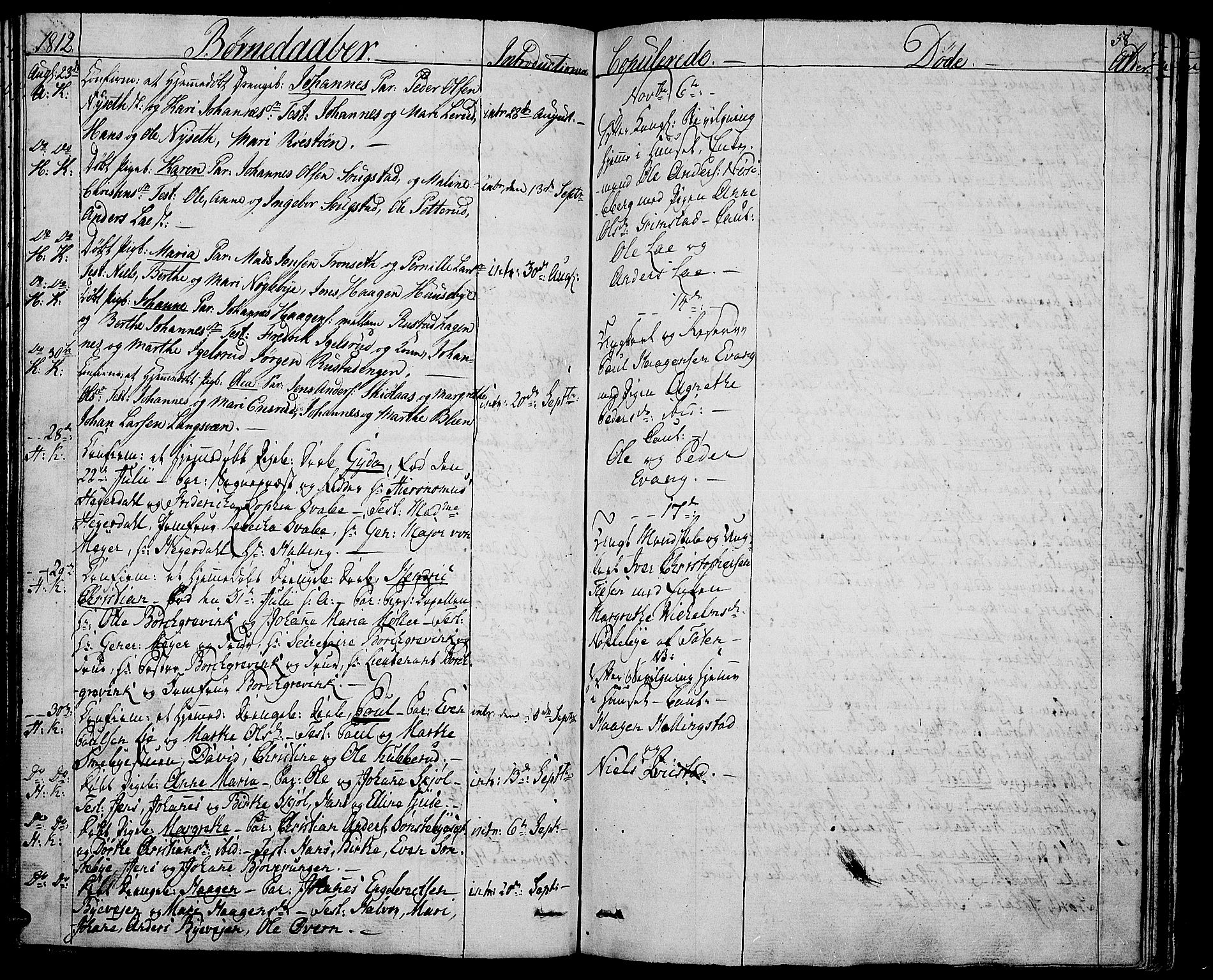 SAH, Toten prestekontor, Ministerialbok nr. 8, 1809-1814, s. 58