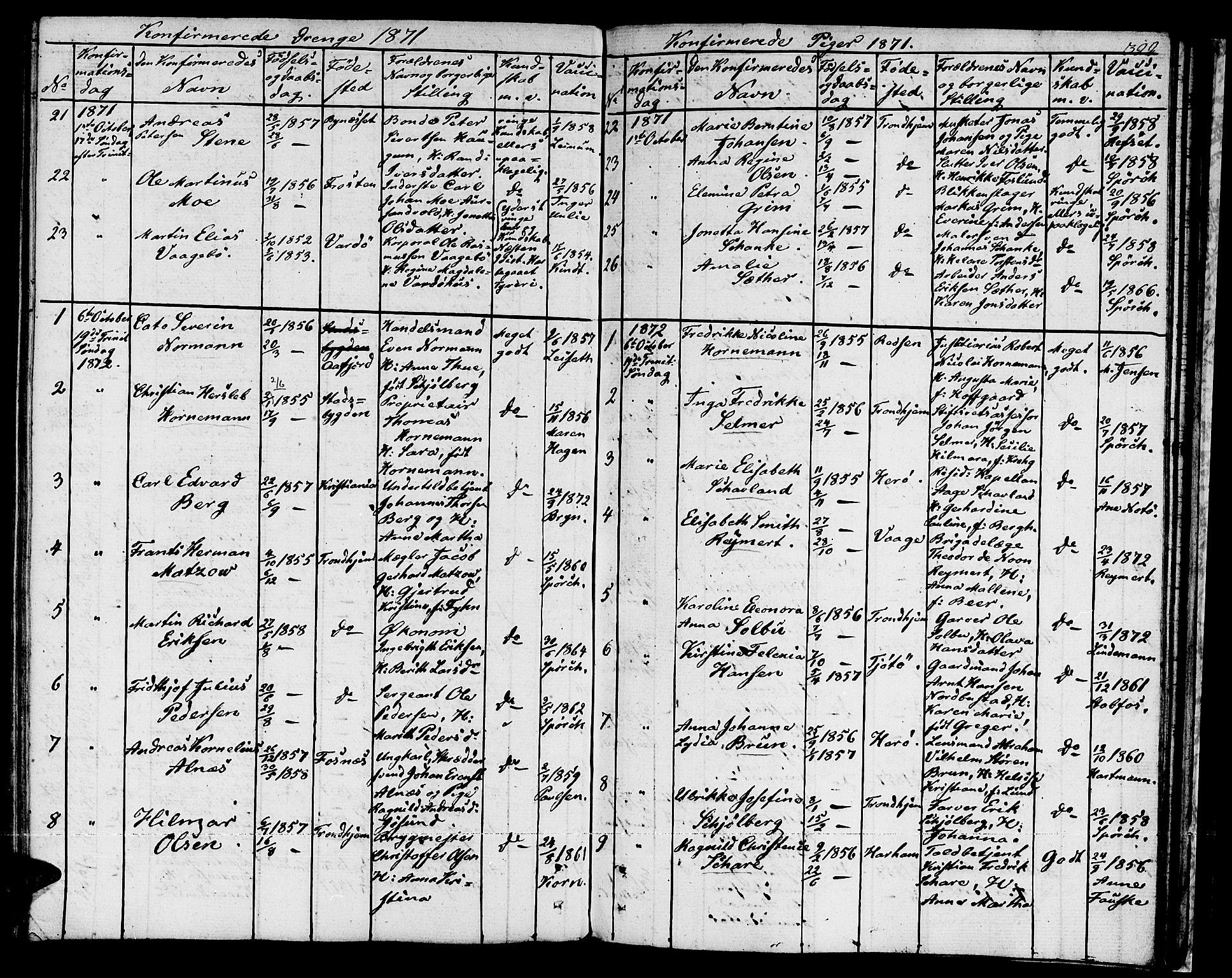SAT, Ministerialprotokoller, klokkerbøker og fødselsregistre - Sør-Trøndelag, 601/L0070: Residerende kapellans bok nr. 601B03, 1821-1881, s. 322a
