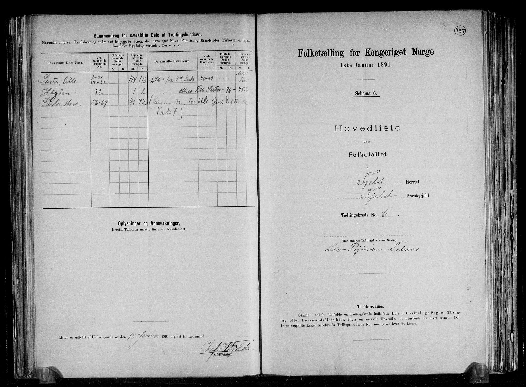 RA, Folketelling 1891 for 1246 Fjell herred, 1891, s. 17