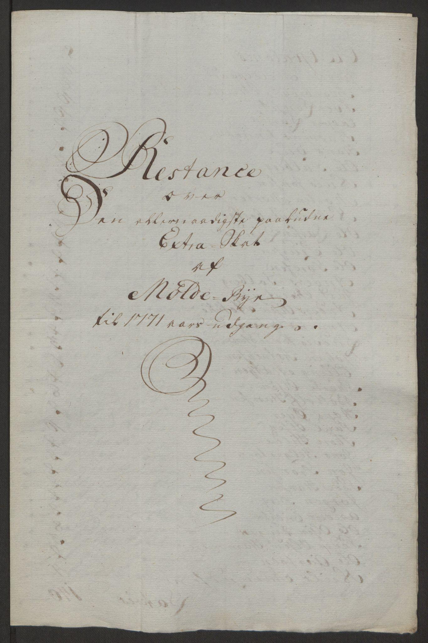 RA, Rentekammeret inntil 1814, Reviderte regnskaper, Byregnskaper, R/Rq/L0487: [Q1] Kontribusjonsregnskap, 1762-1772, s. 208