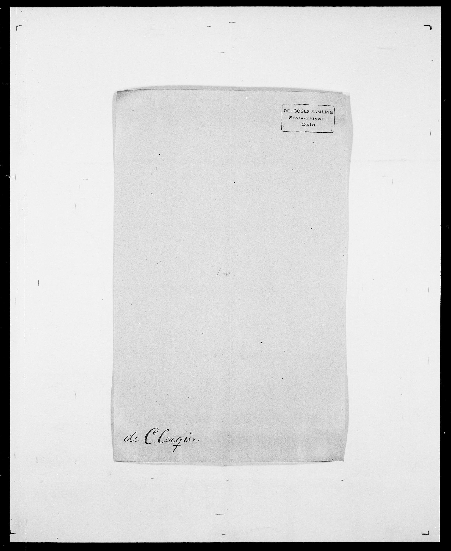 SAO, Delgobe, Charles Antoine - samling, D/Da/L0008: Capjon - Dagenbolt, s. 373