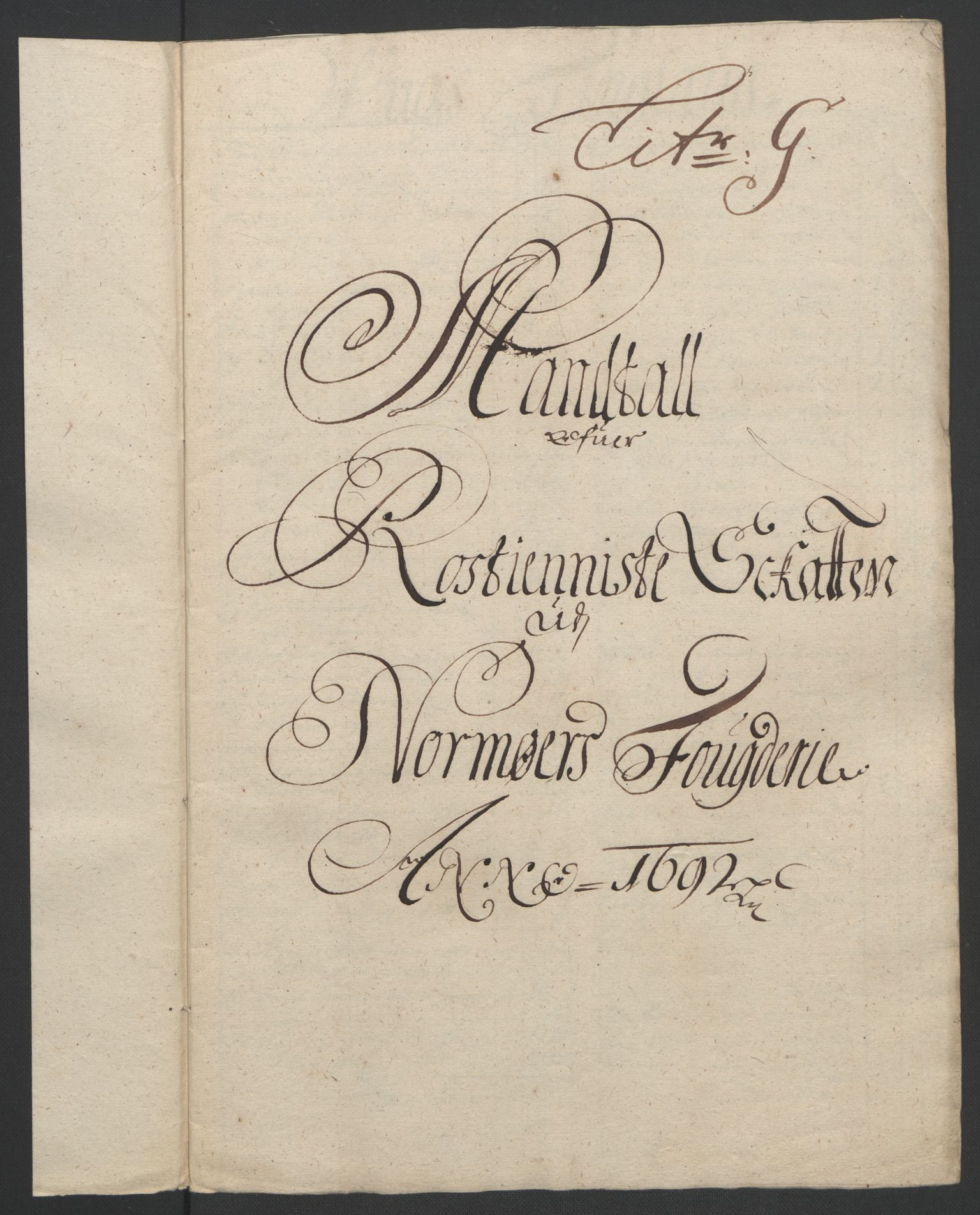 RA, Rentekammeret inntil 1814, Reviderte regnskaper, Fogderegnskap, R56/L3735: Fogderegnskap Nordmøre, 1692-1693, s. 91