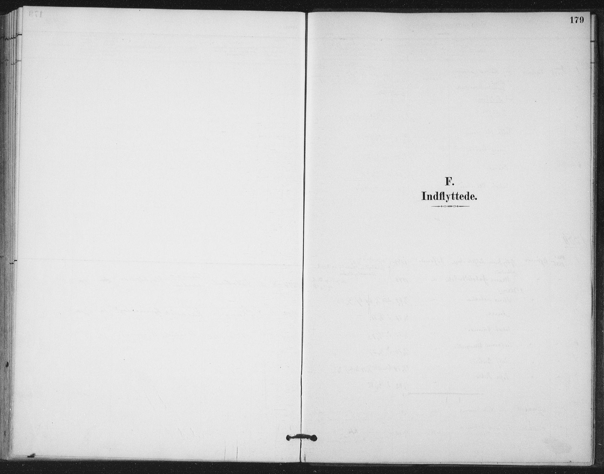 SAT, Ministerialprotokoller, klokkerbøker og fødselsregistre - Nord-Trøndelag, 772/L0603: Ministerialbok nr. 772A01, 1885-1912, s. 179