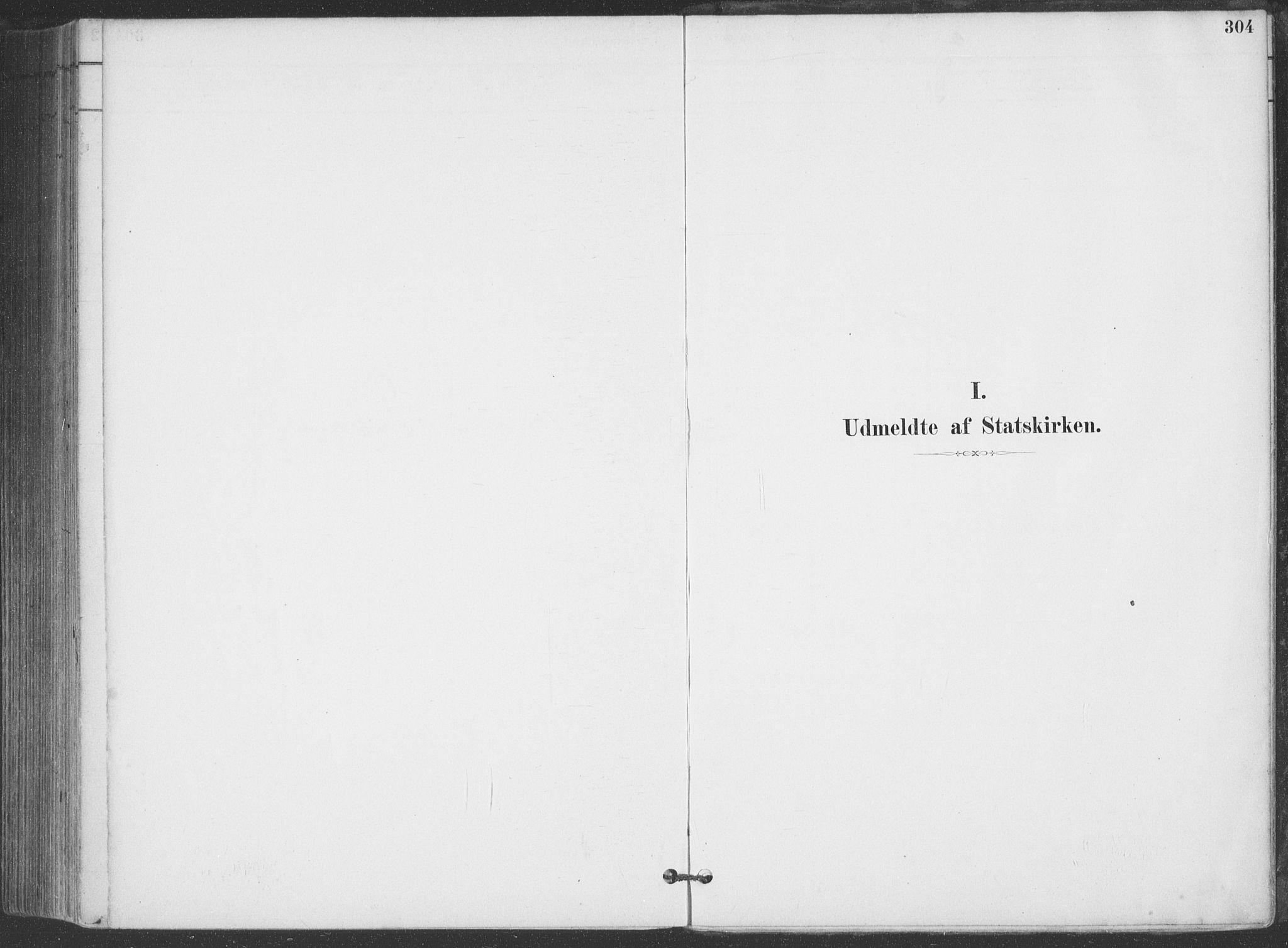 SAKO, Hjartdal kirkebøker, F/Fa/L0010: Ministerialbok nr. I 10, 1880-1929, s. 304