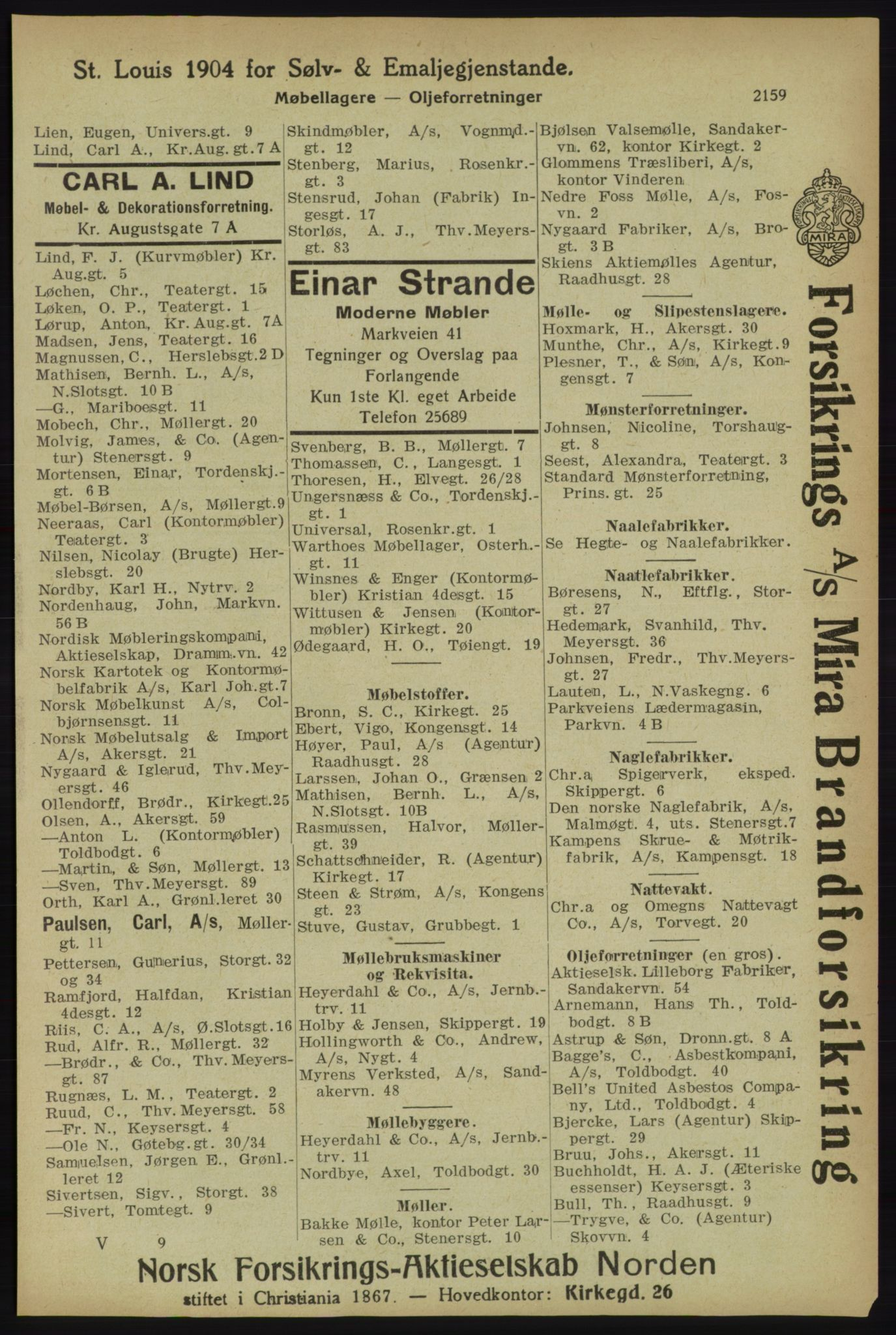 PUBL, Kristiania/Oslo adressebok, 1918, s. 2312