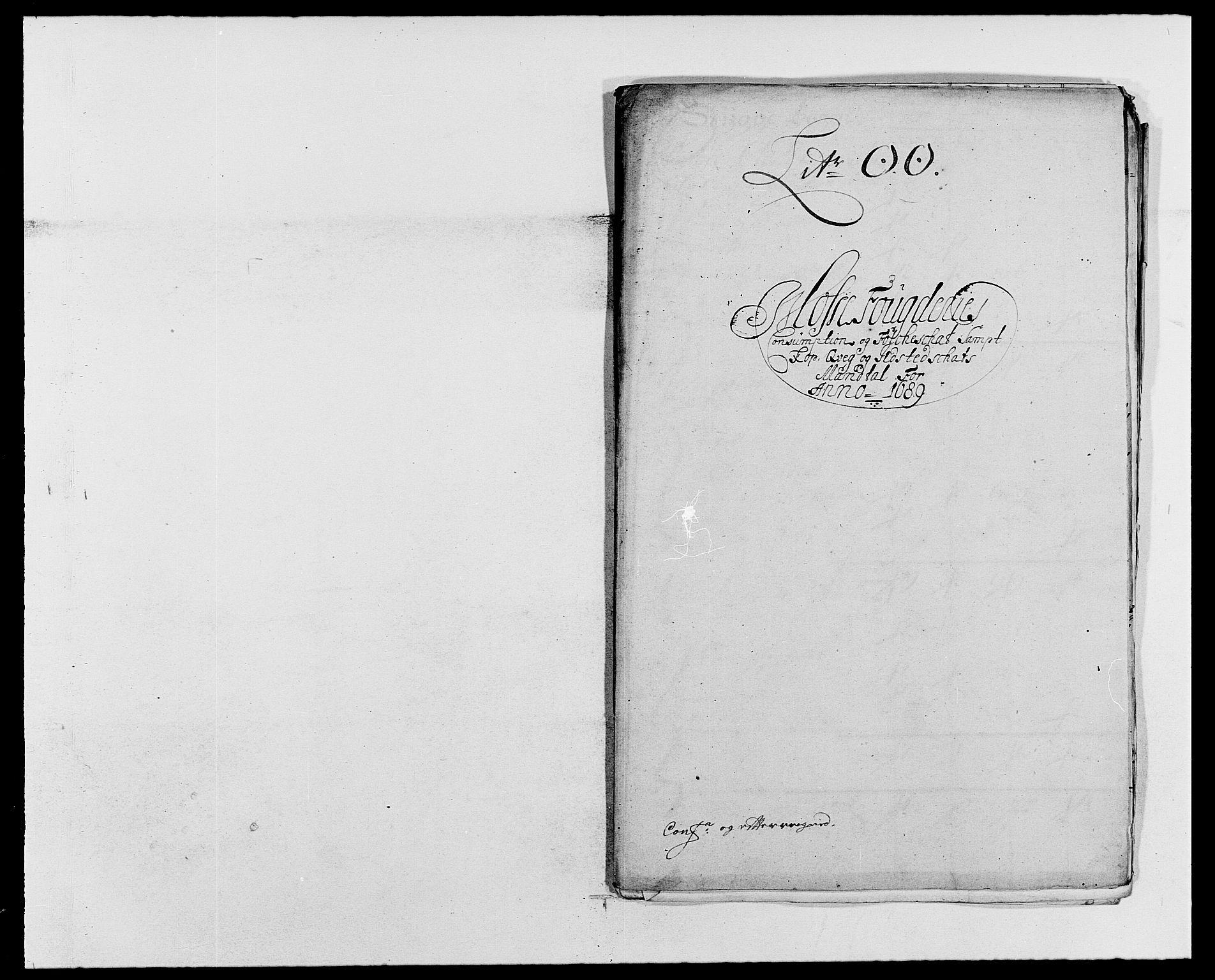 RA, Rentekammeret inntil 1814, Reviderte regnskaper, Fogderegnskap, R02/L0106: Fogderegnskap Moss og Verne kloster, 1688-1691, s. 255