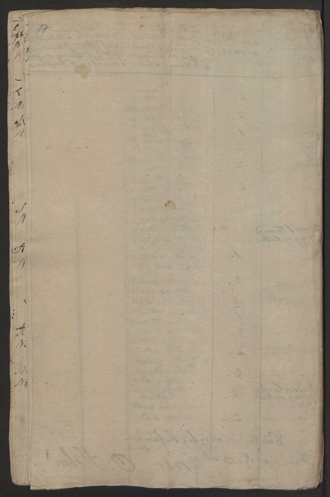 RA, Rentekammeret inntil 1814, Realistisk ordnet avdeling, Ol/L0022a: [Gg 10]: Ekstraskatten, 23.09.1762. Nordlands amt, 1763-1769, s. 158