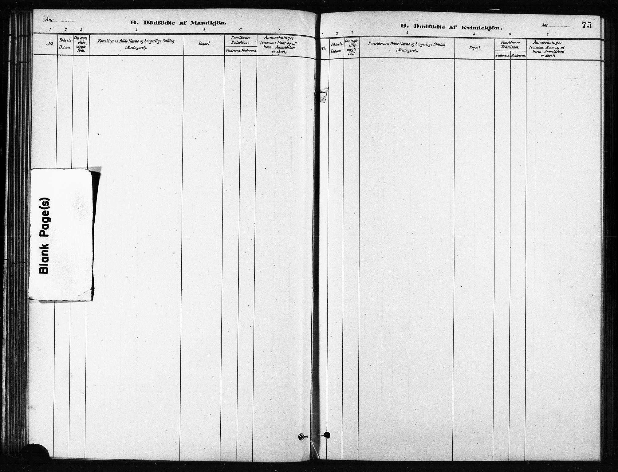 SATØ, Karlsøy sokneprestembete, H/Ha/Haa/L0011kirke: Ministerialbok nr. 11, 1879-1892, s. 75