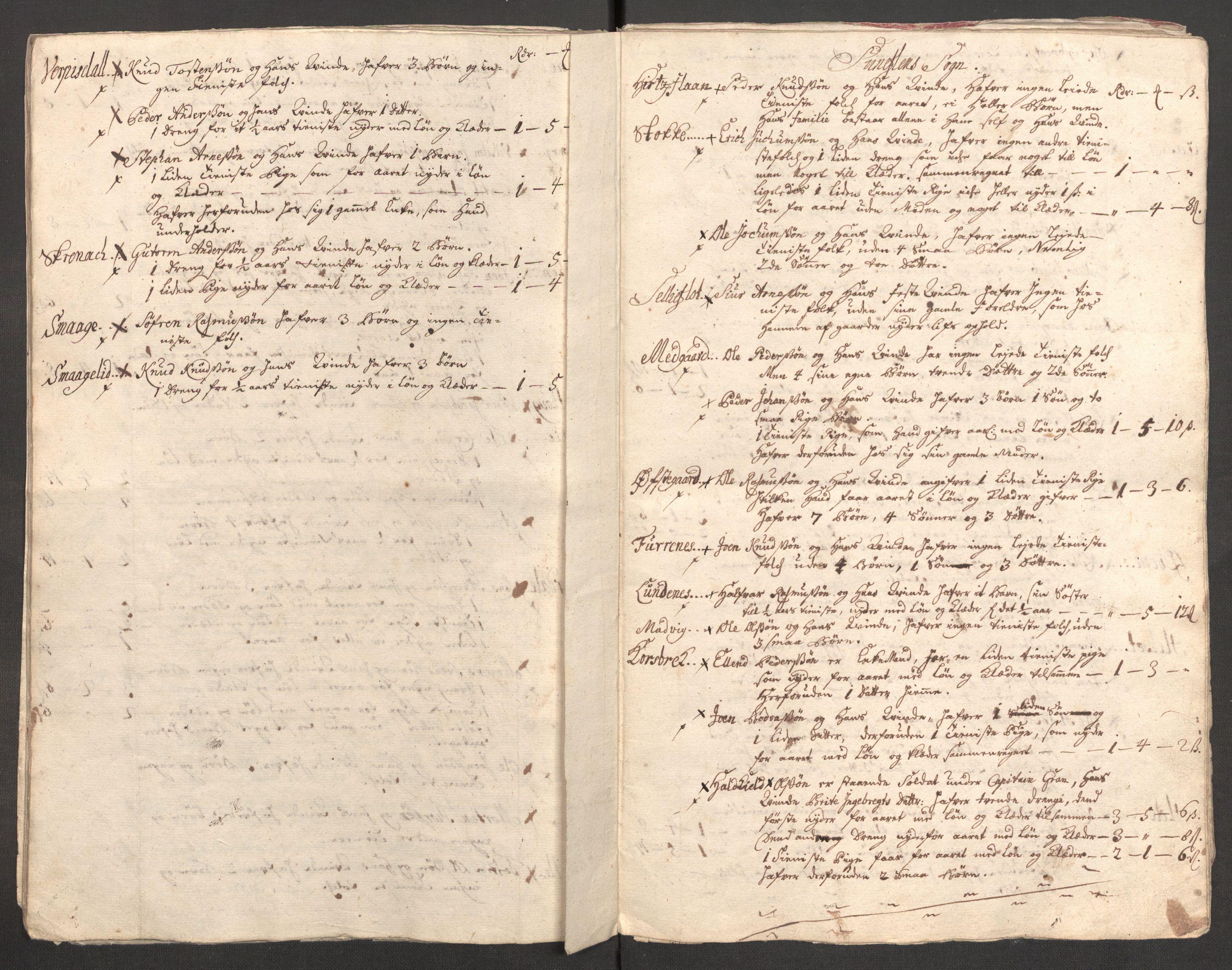 RA, Rentekammeret inntil 1814, Reviderte regnskaper, Fogderegnskap, R54/L3564: Fogderegnskap Sunnmøre, 1711, s. 306