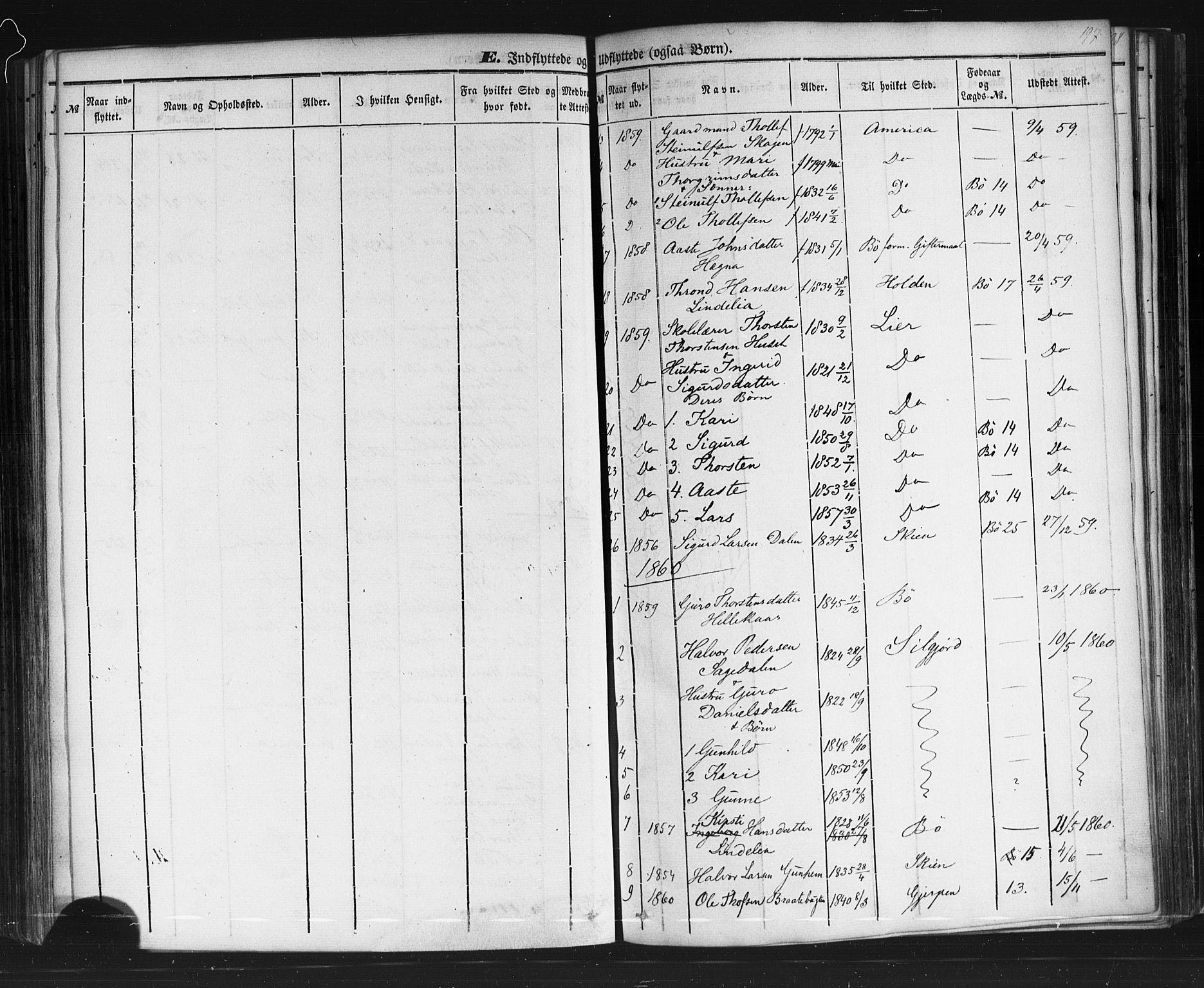 SAKO, Sauherad kirkebøker, F/Fb/L0001: Ministerialbok nr. II 1, 1851-1877, s. 197