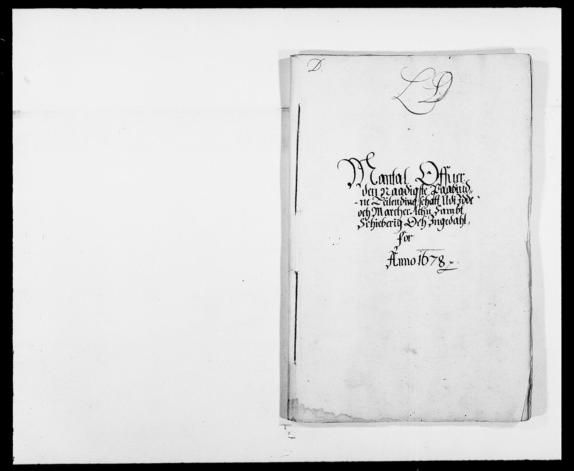 RA, Rentekammeret inntil 1814, Reviderte regnskaper, Fogderegnskap, R01/L0001: Fogderegnskap Idd og Marker, 1678-1679, s. 71