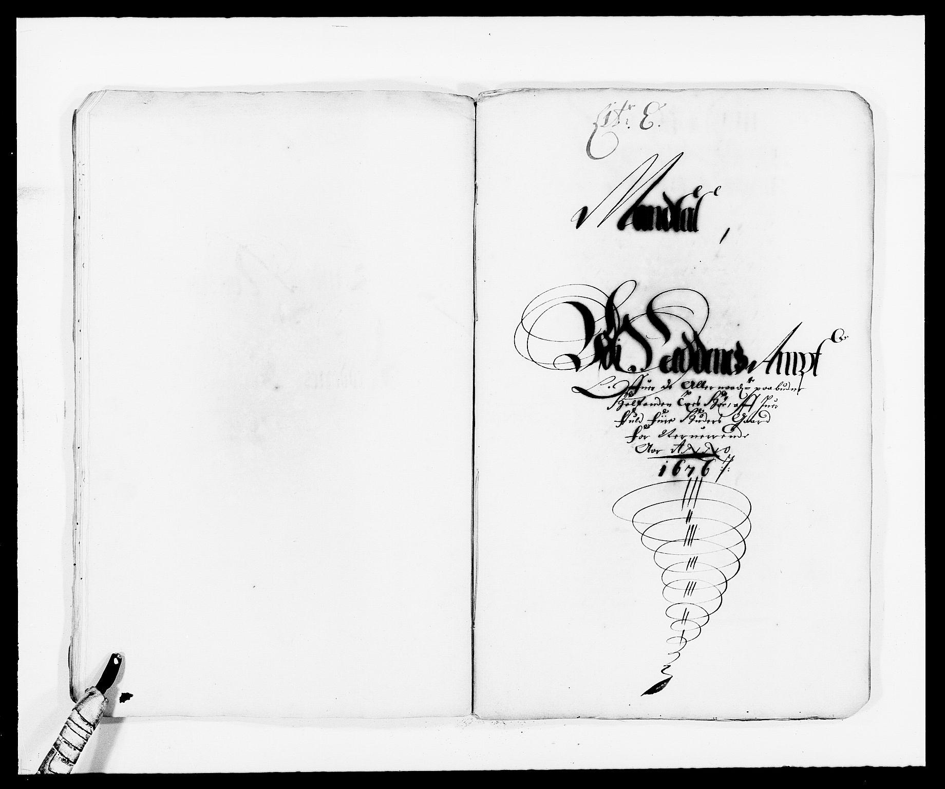RA, Rentekammeret inntil 1814, Reviderte regnskaper, Fogderegnskap, R39/L2301: Fogderegnskap Nedenes, 1675-1676, s. 264