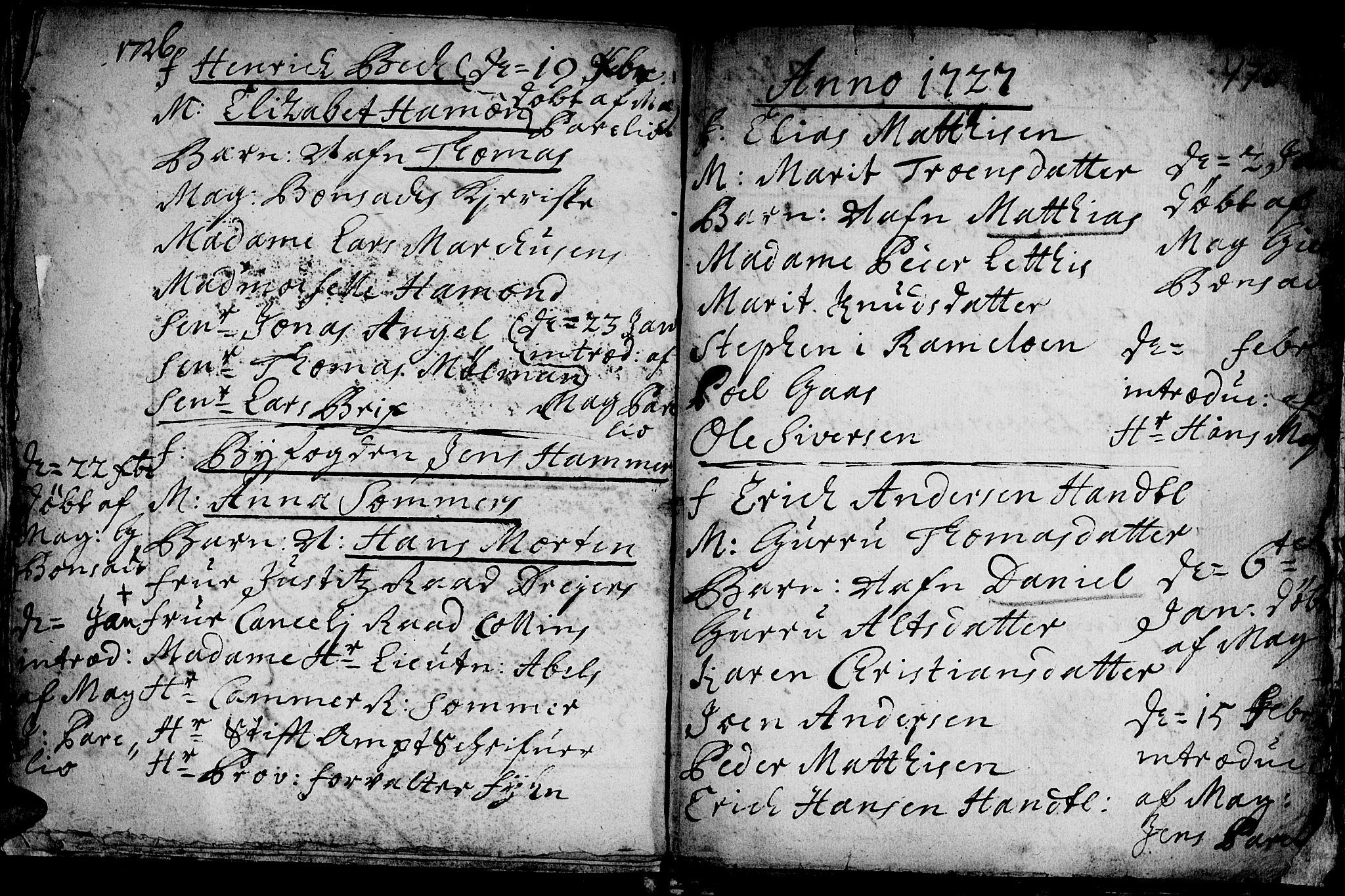 SAT, Ministerialprotokoller, klokkerbøker og fødselsregistre - Sør-Trøndelag, 601/L0035: Ministerialbok nr. 601A03, 1713-1728, s. 470