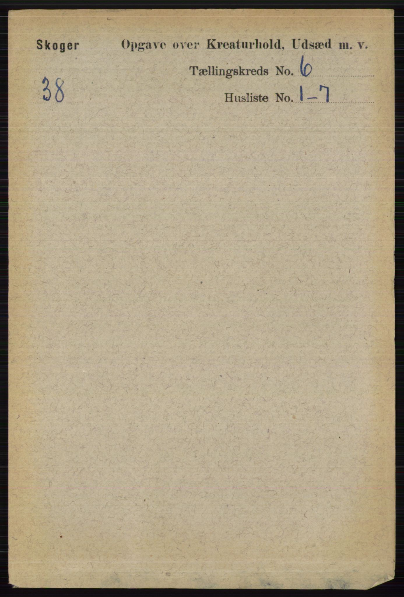 RA, Folketelling 1891 for 0712 Skoger herred, 1891, s. 5187