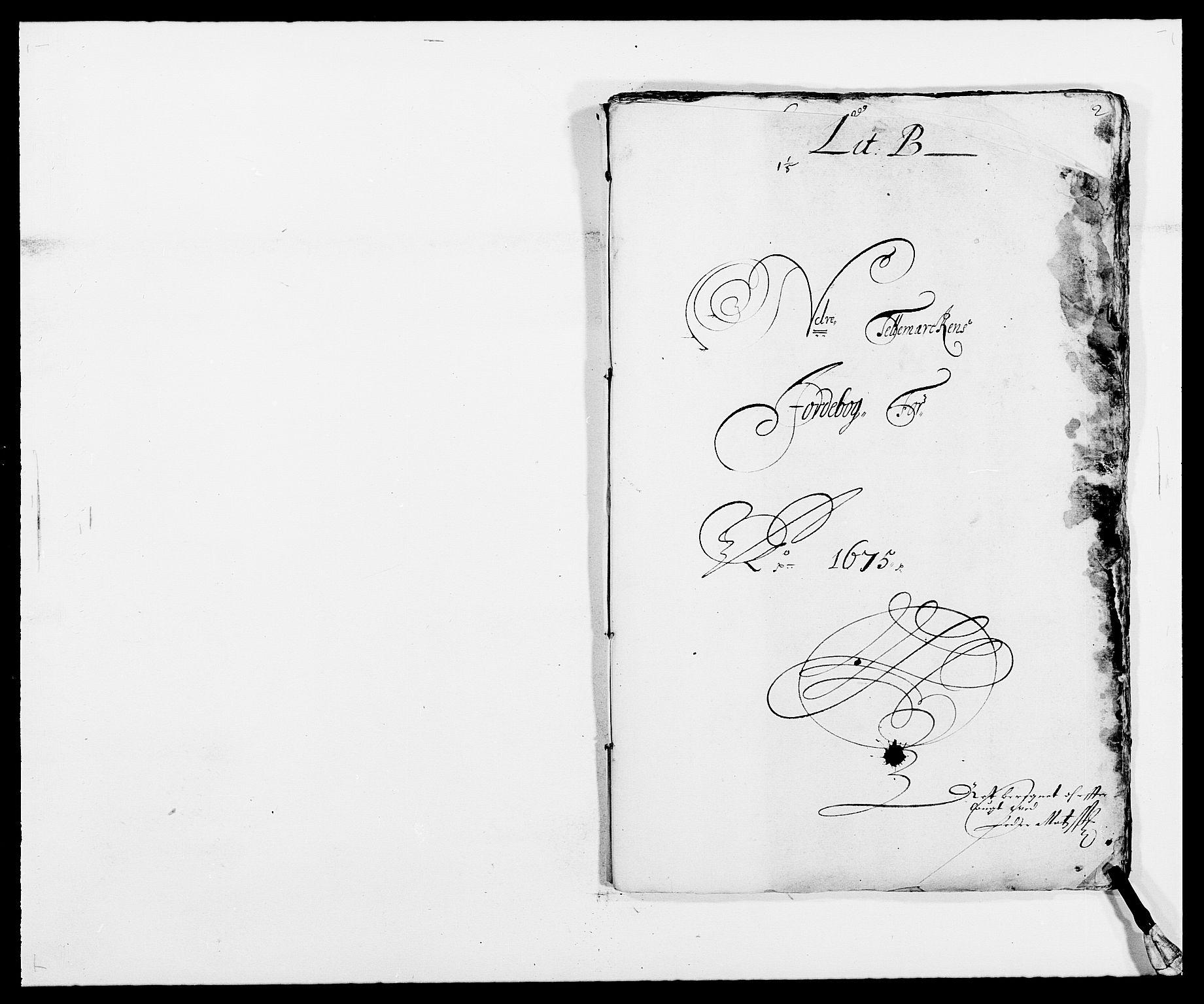 RA, Rentekammeret inntil 1814, Reviderte regnskaper, Fogderegnskap, R35/L2063: Fogderegnskap Øvre og Nedre Telemark, 1675, s. 39