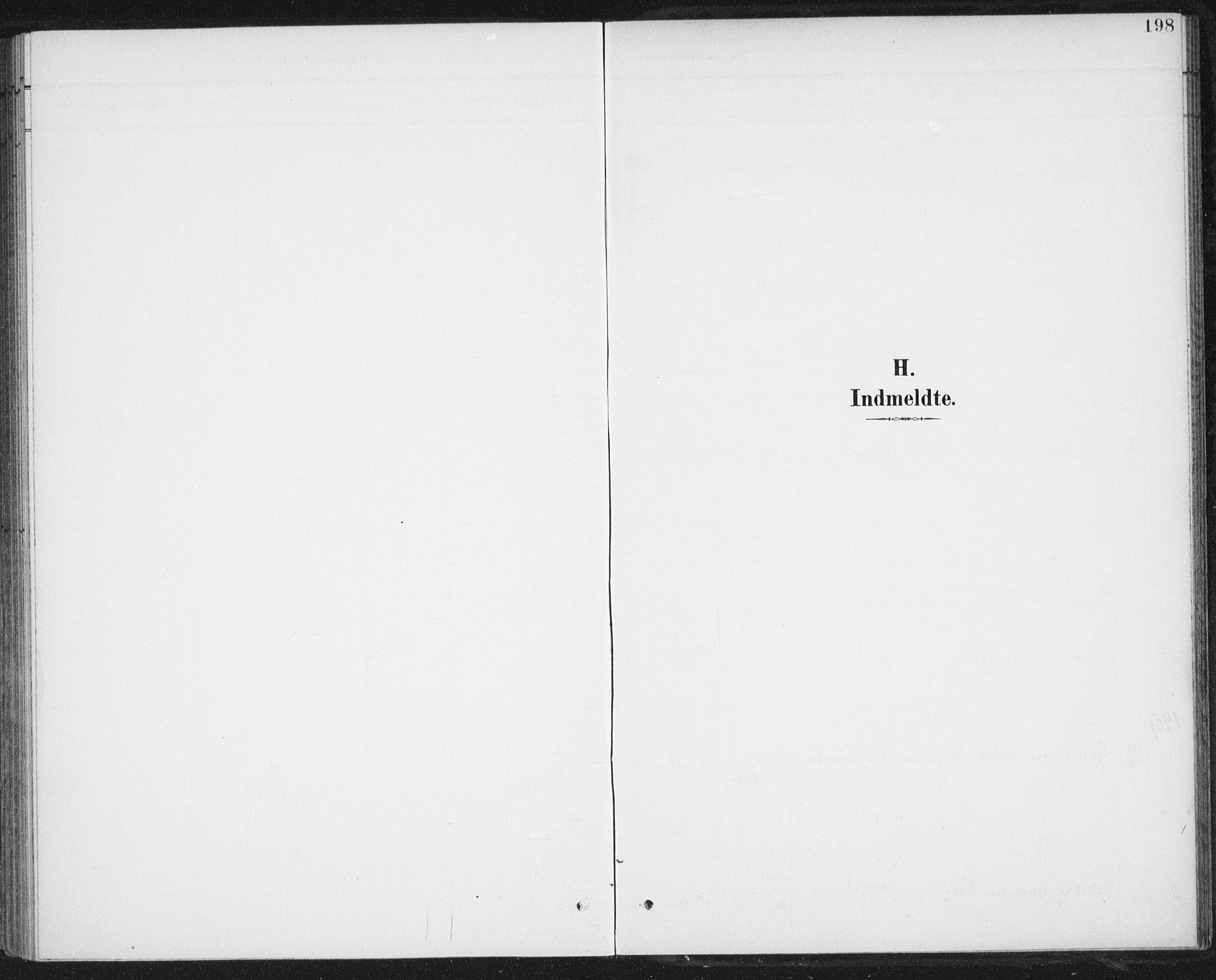 SAT, Ministerialprotokoller, klokkerbøker og fødselsregistre - Nordland, 899/L1437: Ministerialbok nr. 899A05, 1897-1908, s. 198