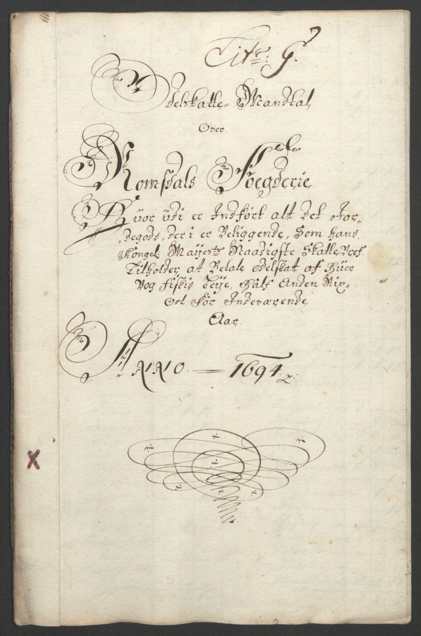 RA, Rentekammeret inntil 1814, Reviderte regnskaper, Fogderegnskap, R55/L3651: Fogderegnskap Romsdal, 1693-1694, s. 238
