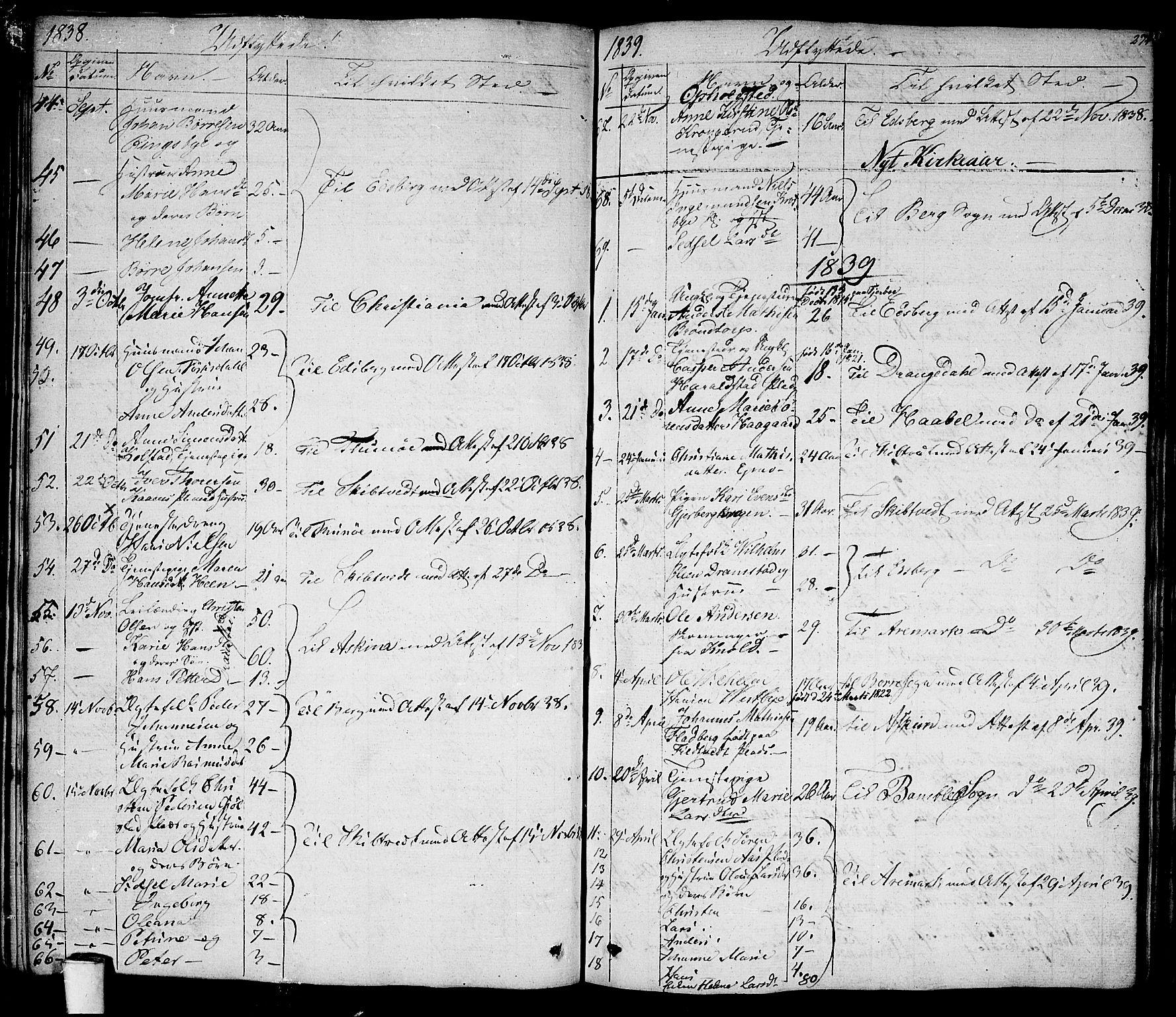 SAO, Rakkestad prestekontor Kirkebøker, F/Fa/L0007: Ministerialbok nr. I 7, 1825-1841, s. 274