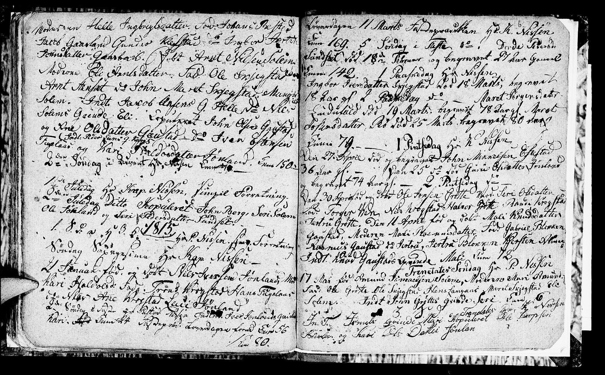 SAT, Ministerialprotokoller, klokkerbøker og fødselsregistre - Sør-Trøndelag, 694/L1129: Klokkerbok nr. 694C01, 1793-1815, s. 62