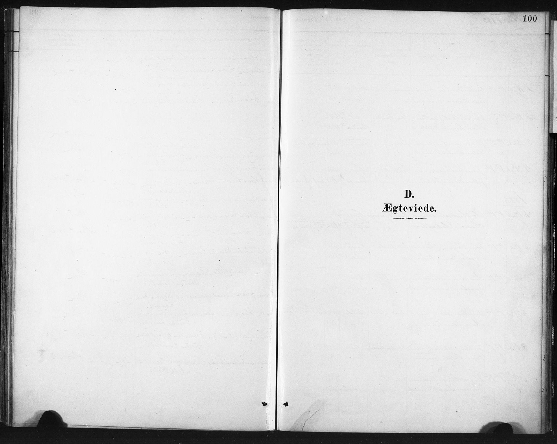 SAT, Ministerialprotokoller, klokkerbøker og fødselsregistre - Nordland, 803/L0071: Ministerialbok nr. 803A01, 1881-1897, s. 100