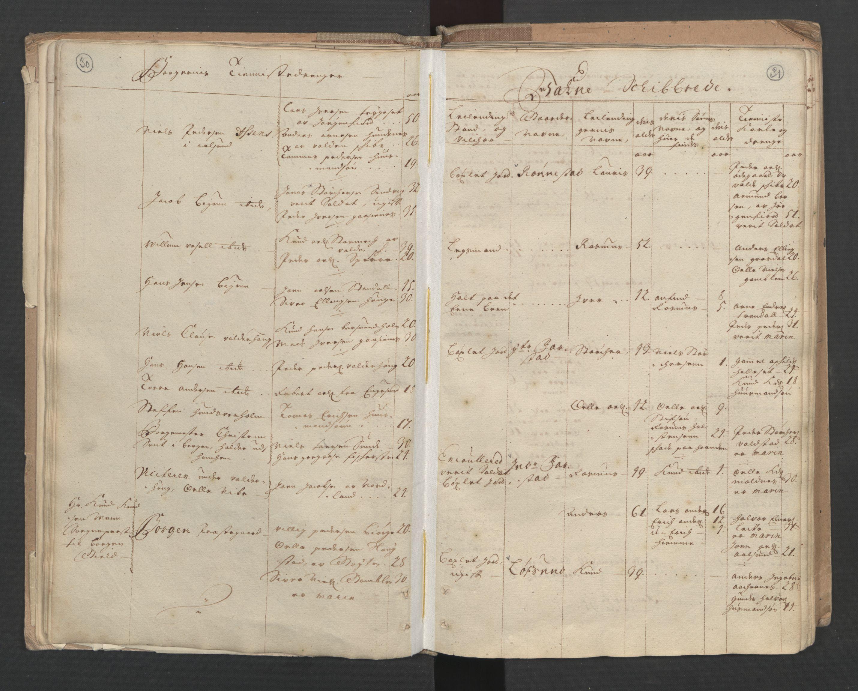 RA, Manntallet 1701, nr. 10: Sunnmøre fogderi, 1701, s. 30-31