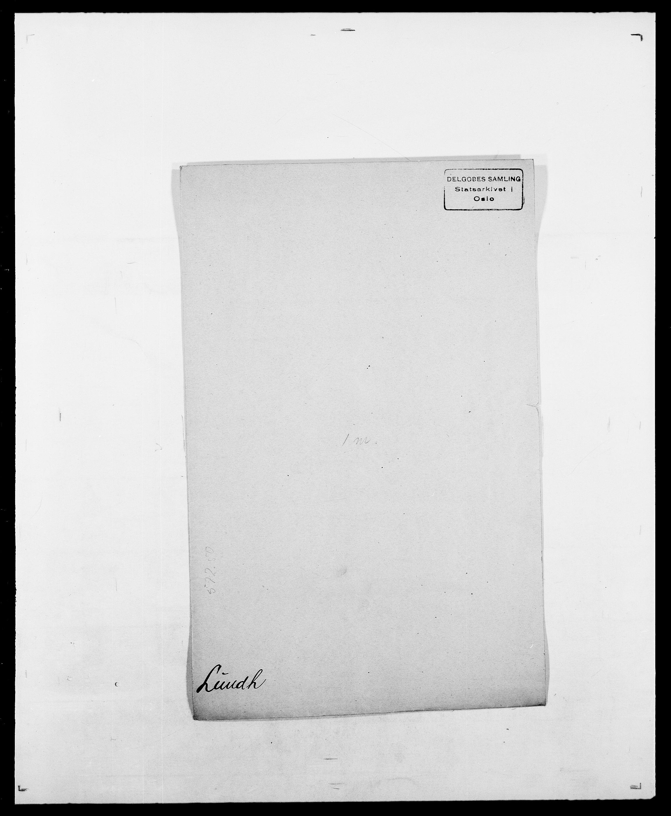 SAO, Delgobe, Charles Antoine - samling, D/Da/L0024: Lobech - Lærum, s. 647