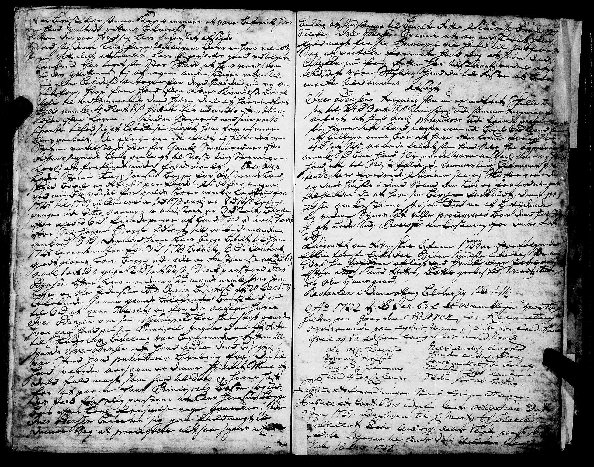 SAT, Romsdal sorenskriveri, 1/1A/L0010: Tingbok, 1728-1732, s. 163