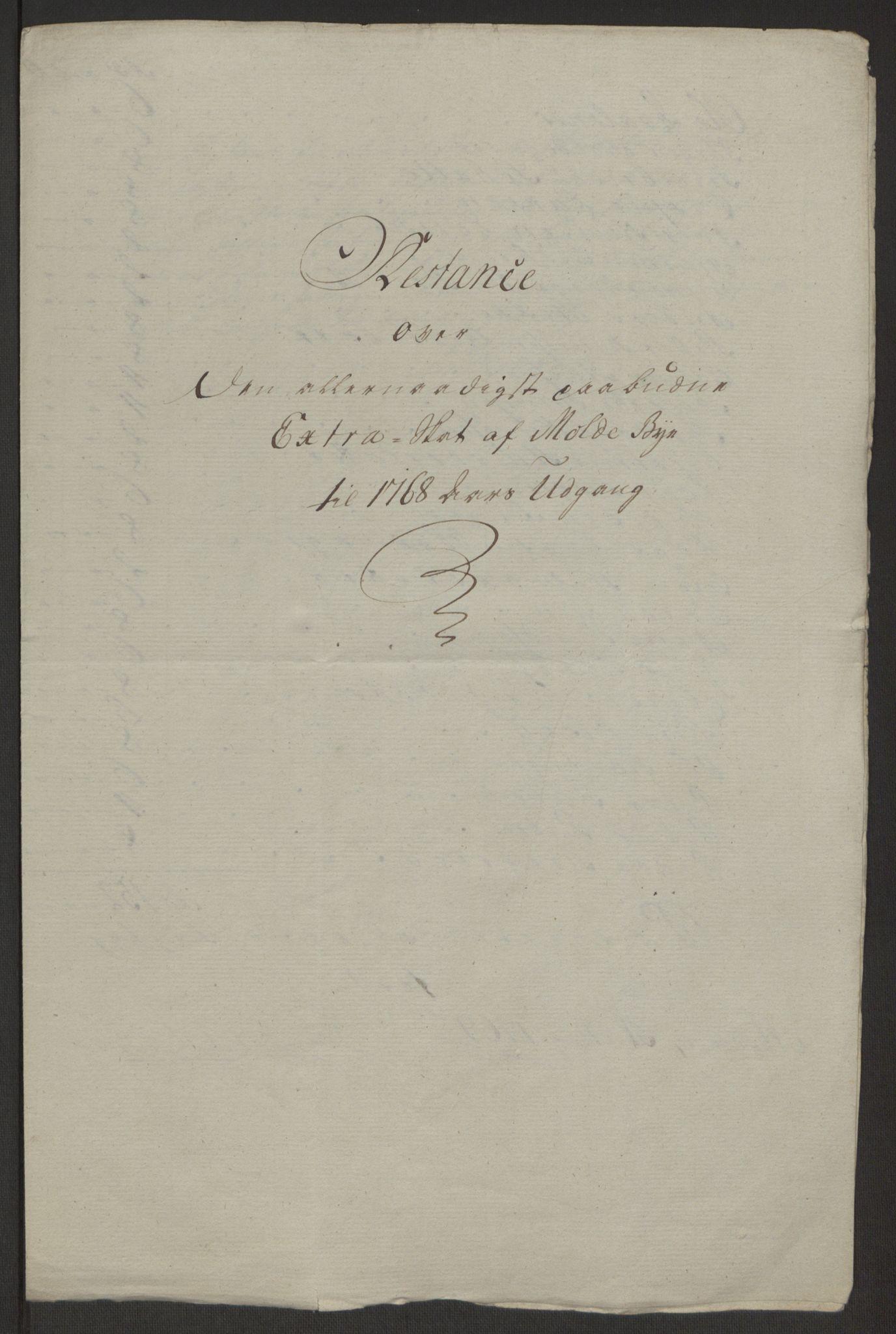RA, Rentekammeret inntil 1814, Reviderte regnskaper, Byregnskaper, R/Rq/L0487: [Q1] Kontribusjonsregnskap, 1762-1772, s. 166