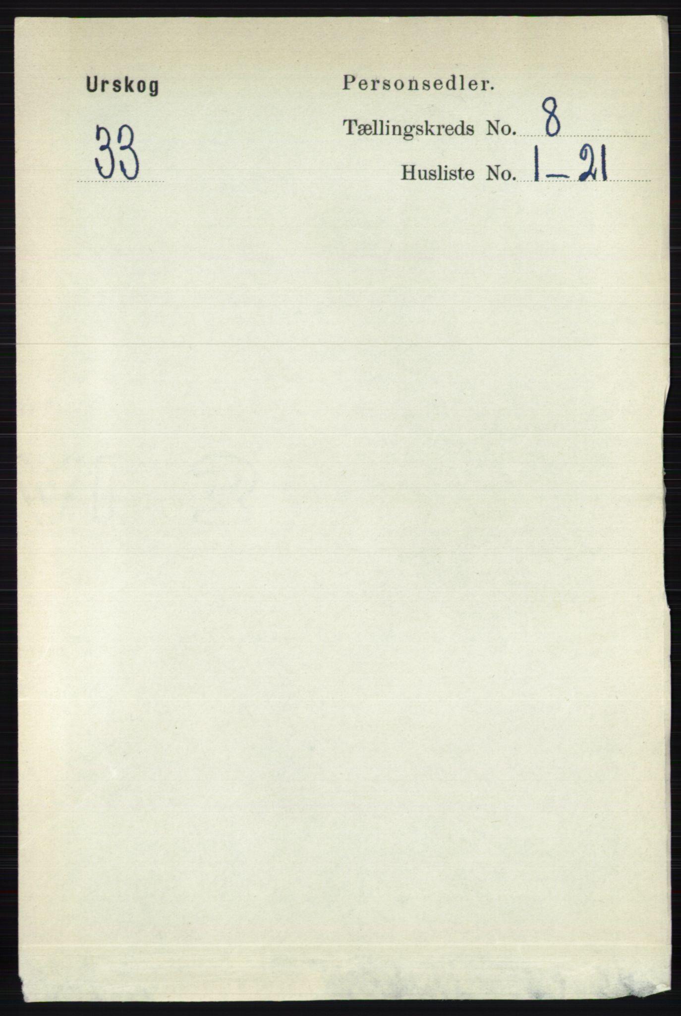 RA, Folketelling 1891 for 0224 Aurskog herred, 1891, s. 3883