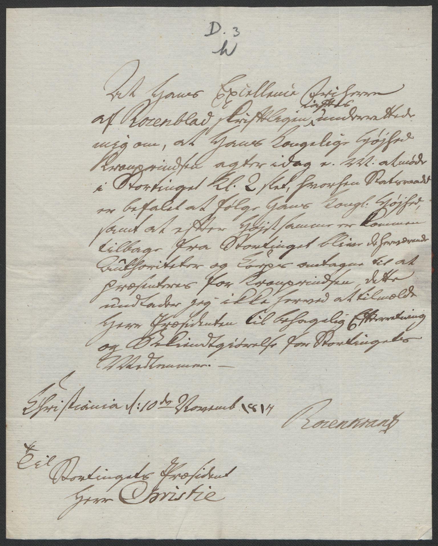 RA, Christie, Wilhelm Frimann Koren, F/L0004, 1814, s. 216