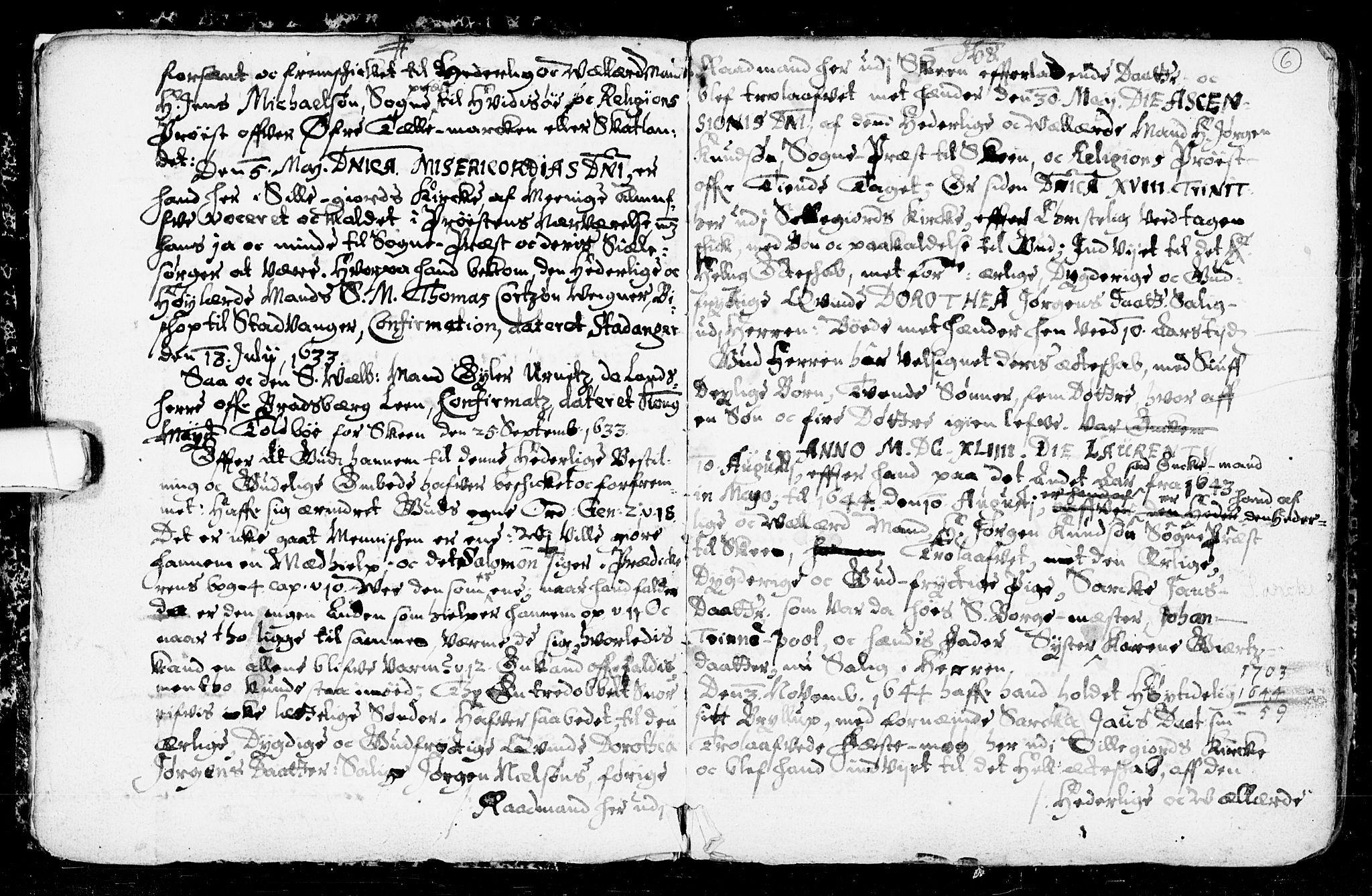 SAKO, Seljord kirkebøker, F/Fa/L0001: Ministerialbok nr. I 1, 1654-1686, s. 6