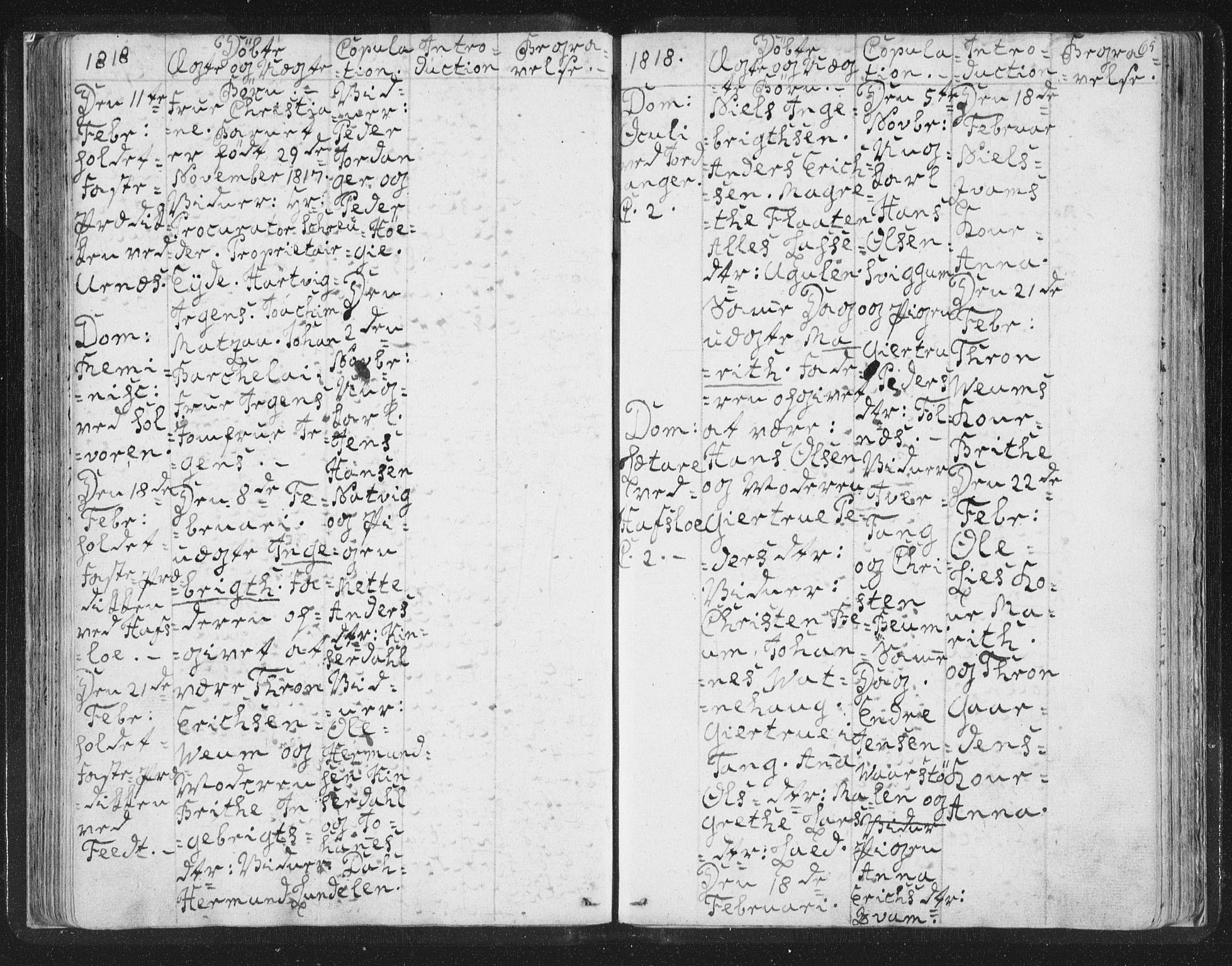 SAB, Hafslo sokneprestembete, H/Haa/Haaa/L0003: Ministerialbok nr. A 3, 1807-1821, s. 65