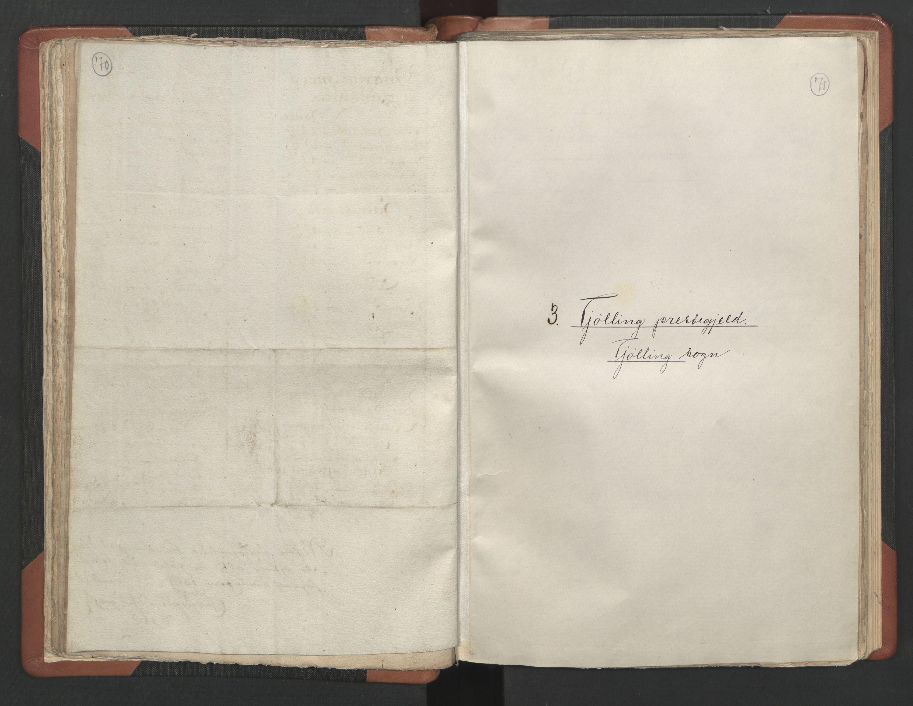 RA, Sogneprestenes manntall 1664-1666, nr. 11: Brunlanes prosti, 1664-1666, s. 70-71