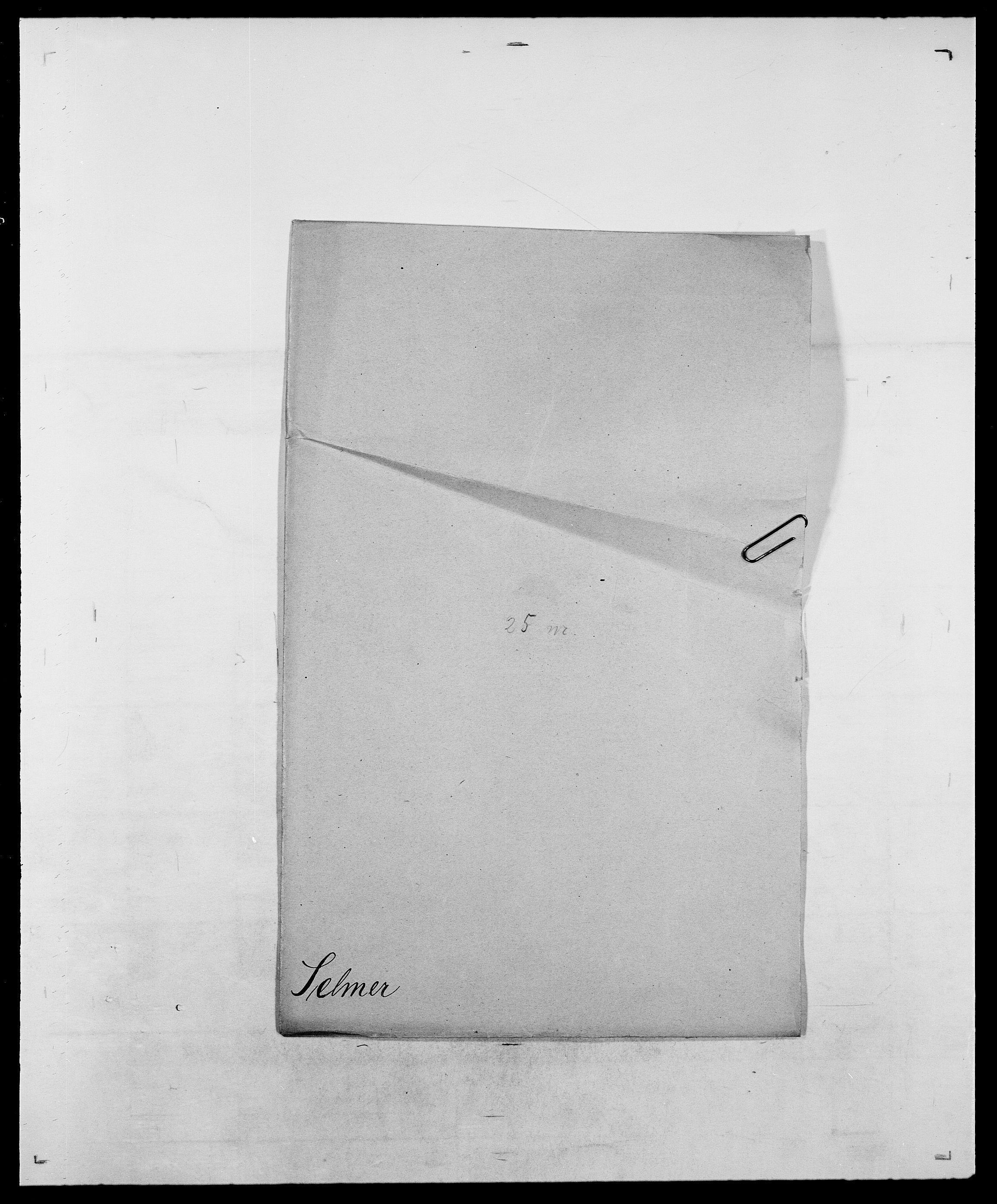 SAO, Delgobe, Charles Antoine - samling, D/Da/L0035: Schnabel - sjetman, s. 643