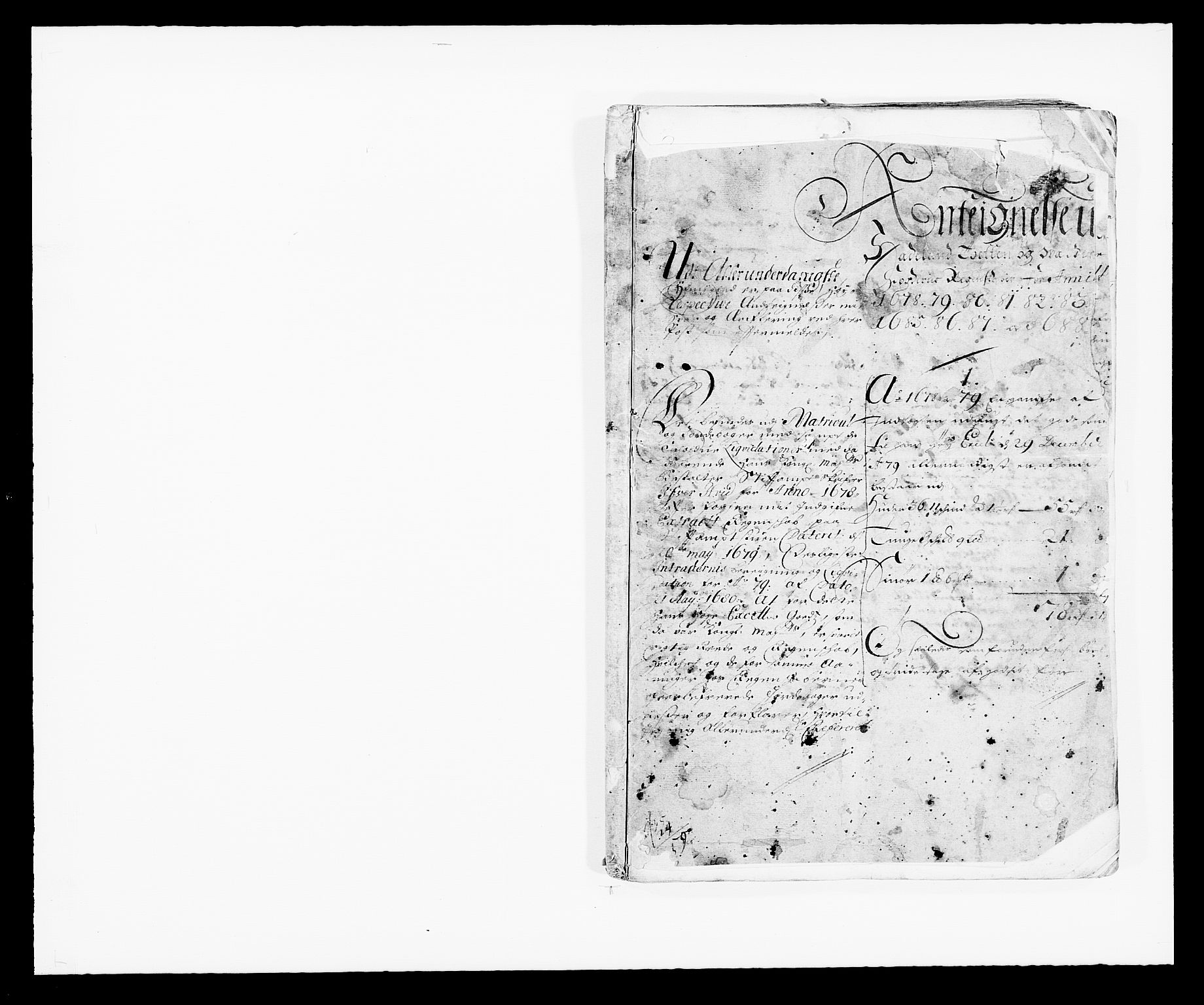 RA, Rentekammeret inntil 1814, Reviderte regnskaper, Fogderegnskap, R18/L1287: Fogderegnskap Hadeland, Toten og Valdres, 1688, s. 333