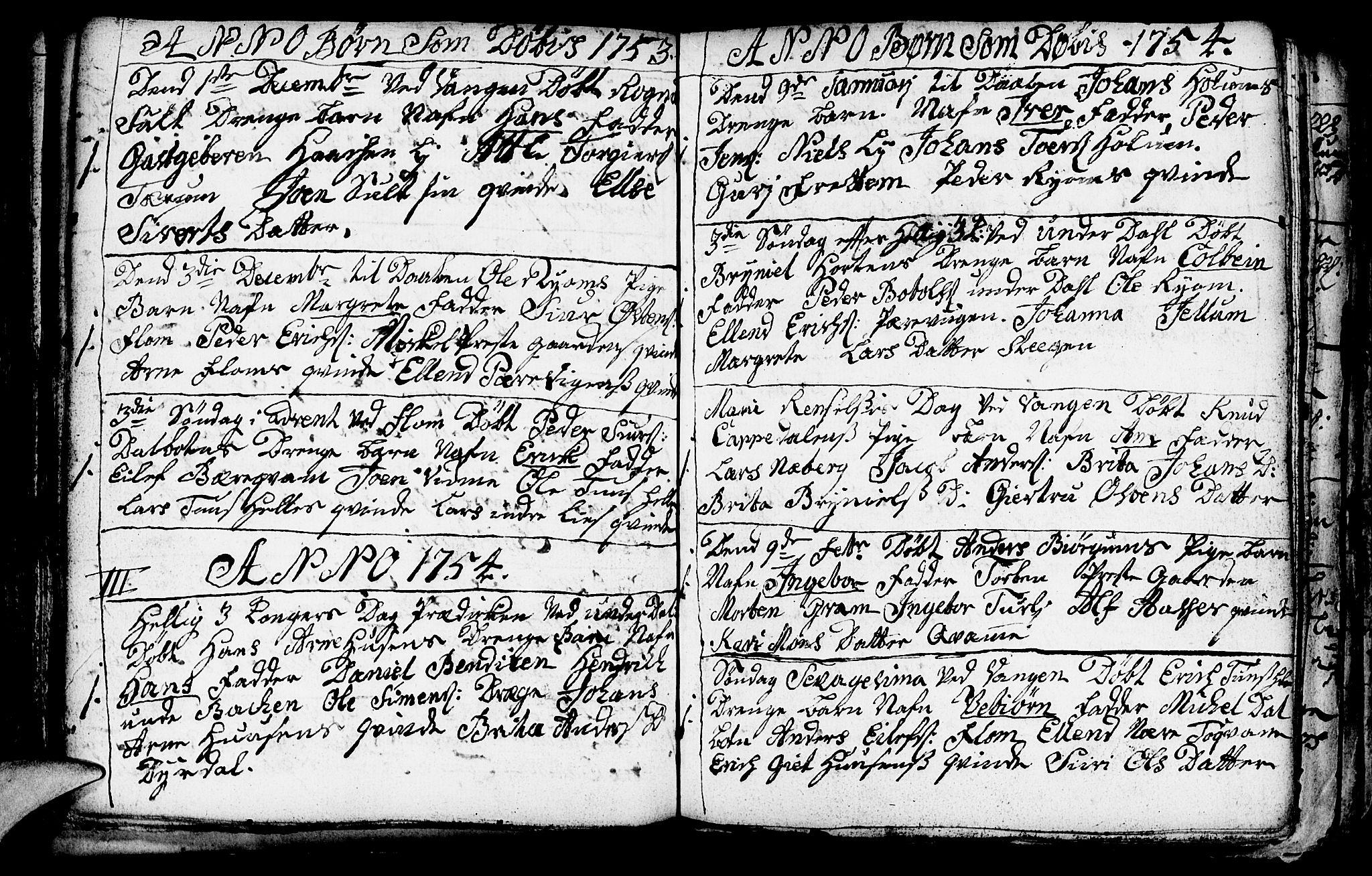 SAB, Aurland Sokneprestembete*, Ministerialbok nr. A 3, 1735-1761, s. 74