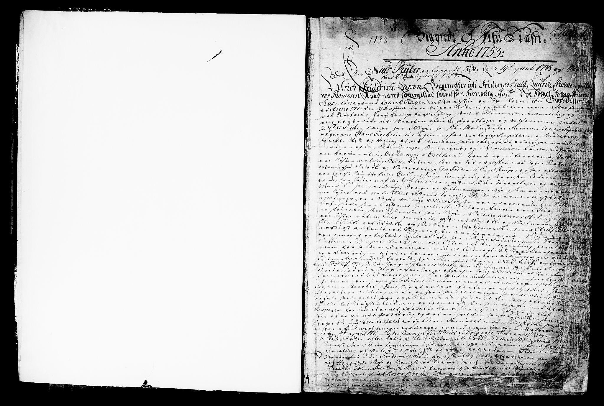 SAO, Halden byfogd, H/Hc/L0003: Skifteprotokoll, 1753-1766, s. 0-1