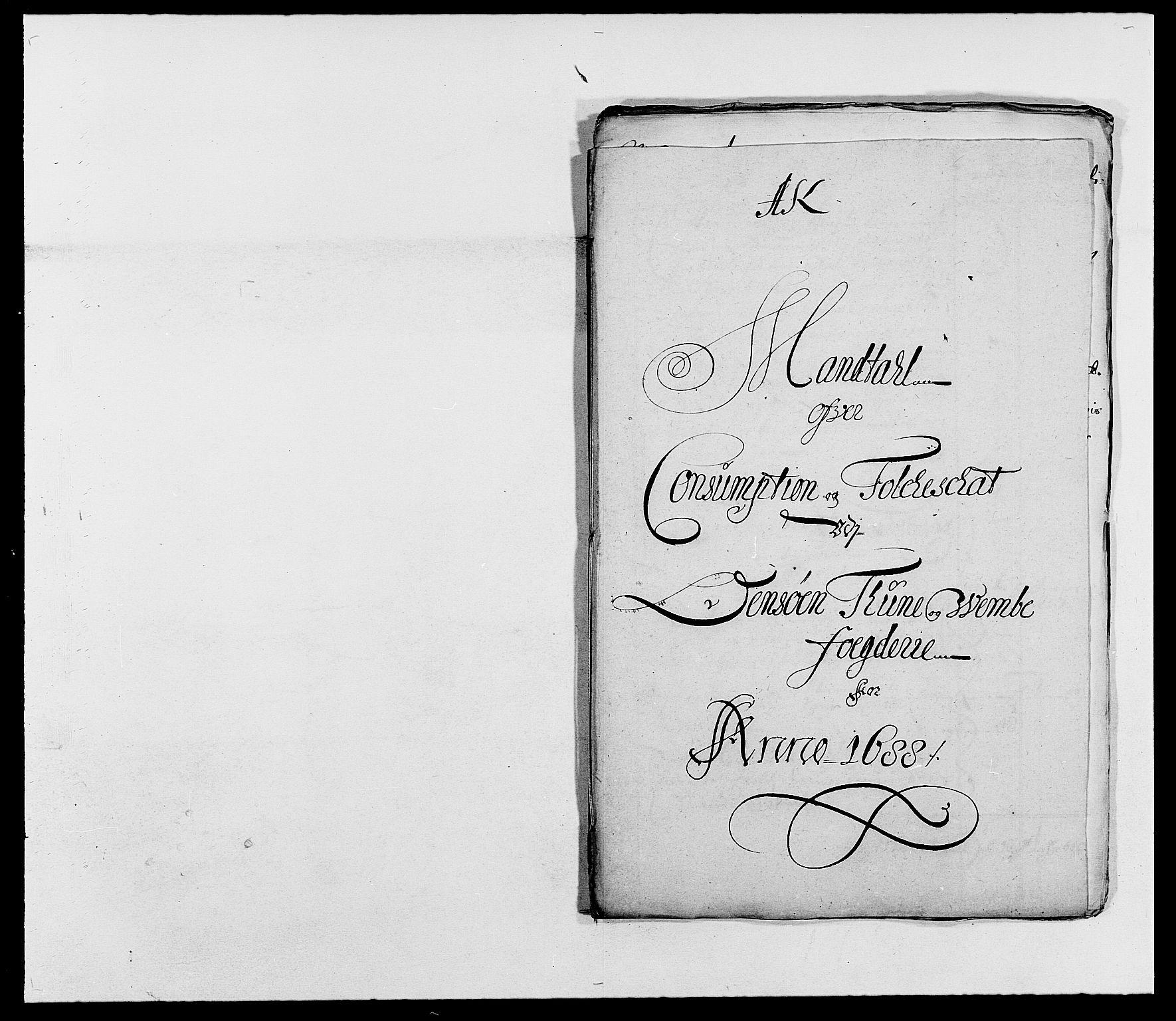 RA, Rentekammeret inntil 1814, Reviderte regnskaper, Fogderegnskap, R03/L0117: Fogderegnskap Onsøy, Tune, Veme og Åbygge fogderi, 1684-1689, s. 252