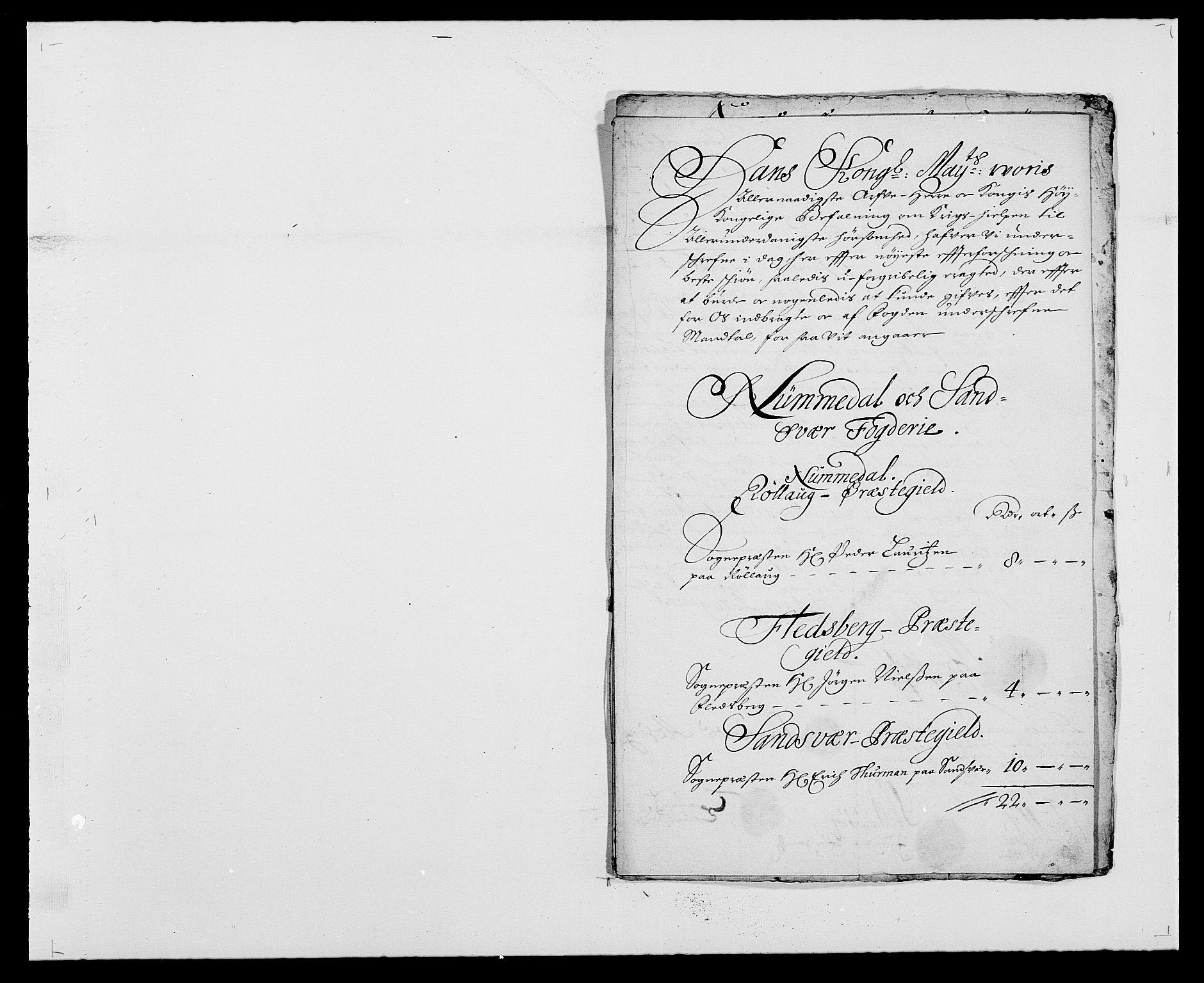 RA, Rentekammeret inntil 1814, Reviderte regnskaper, Fogderegnskap, R24/L1570: Fogderegnskap Numedal og Sandsvær, 1679-1686, s. 359