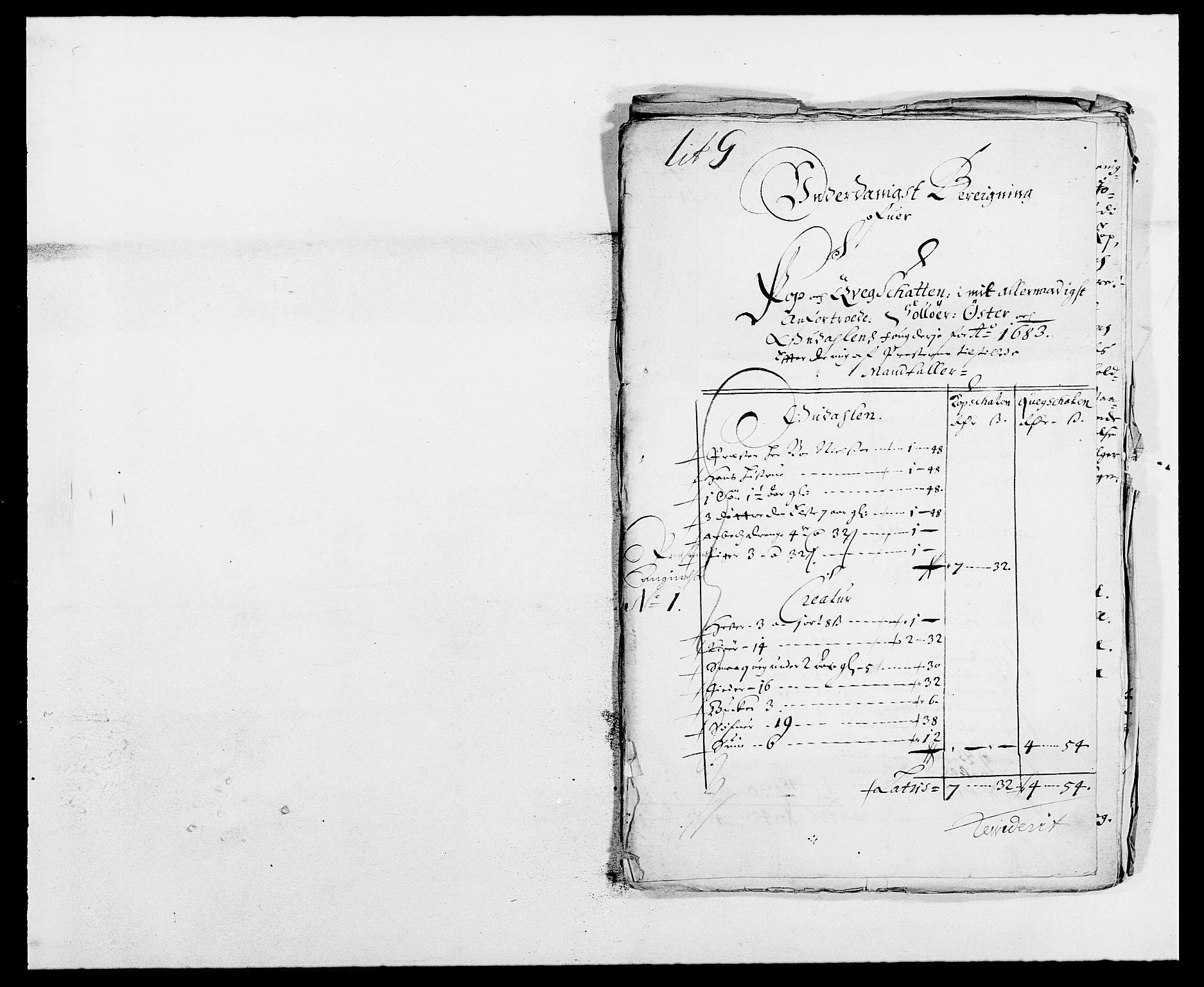 RA, Rentekammeret inntil 1814, Reviderte regnskaper, Fogderegnskap, R13/L0820: Fogderegnskap Solør, Odal og Østerdal, 1683, s. 227