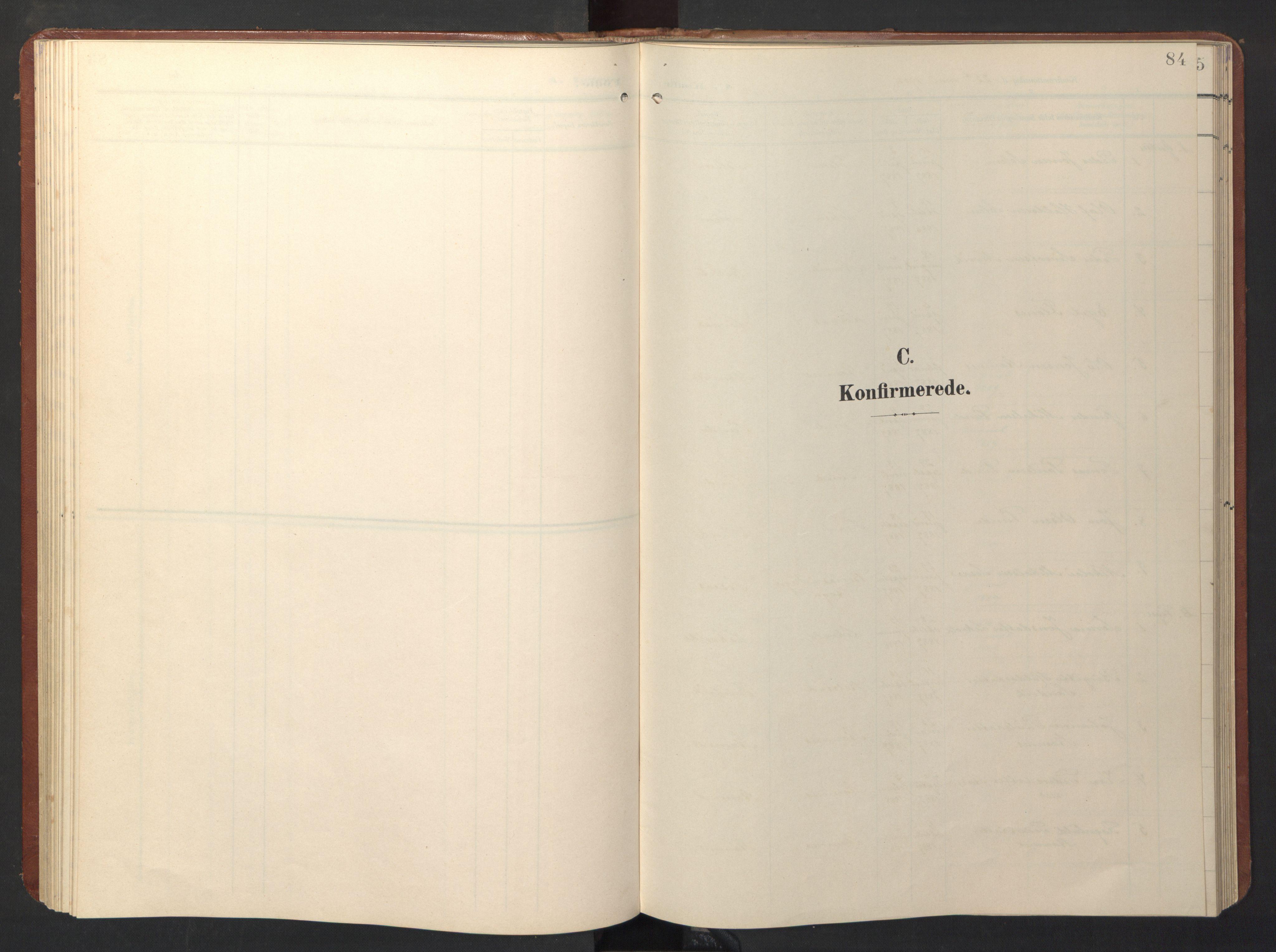 SAT, Ministerialprotokoller, klokkerbøker og fødselsregistre - Sør-Trøndelag, 696/L1161: Klokkerbok nr. 696C01, 1902-1950, s. 84