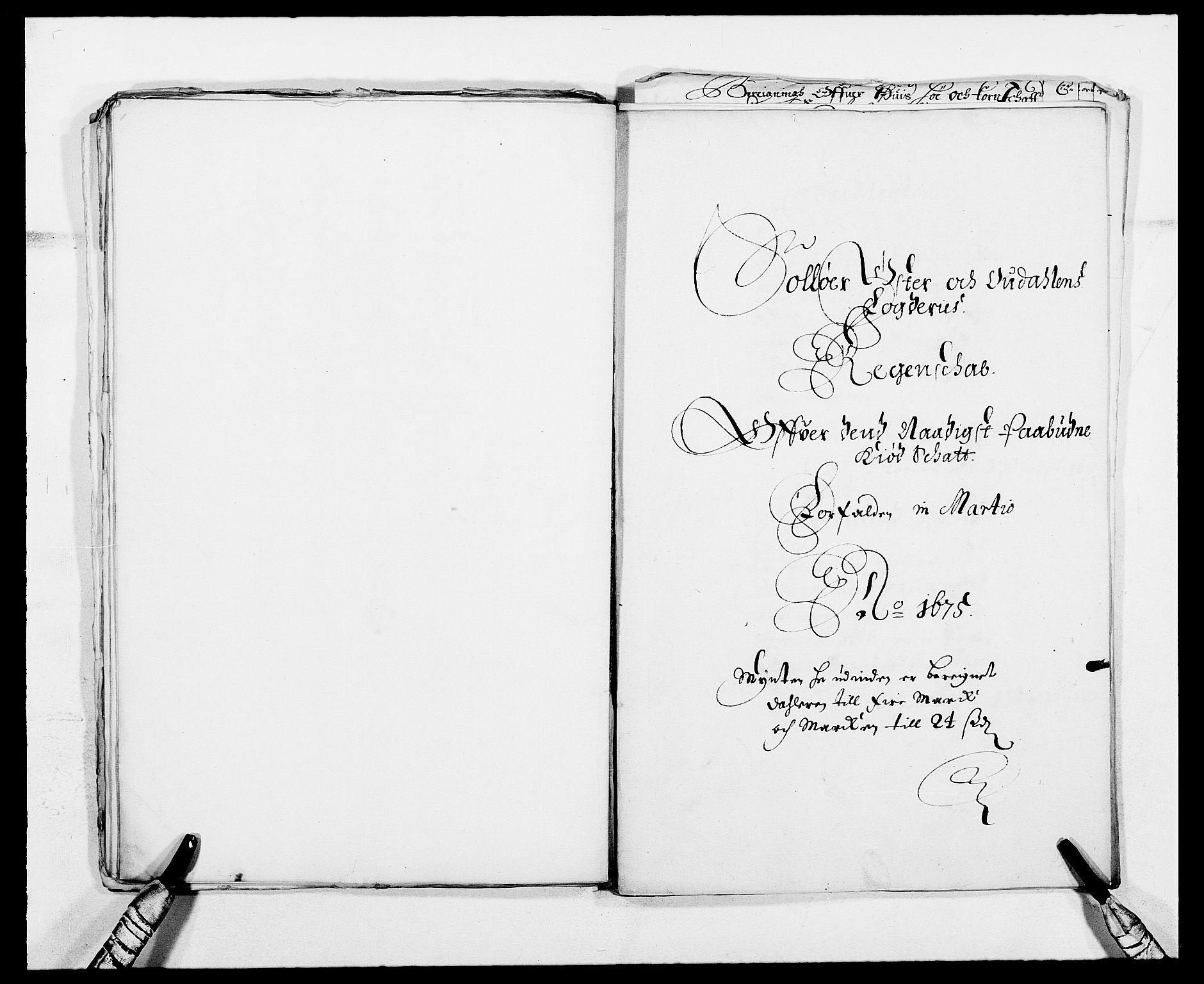 RA, Rentekammeret inntil 1814, Reviderte regnskaper, Fogderegnskap, R13/L0808: Fogderegnskap Solør, Odal og Østerdal, 1675, s. 58