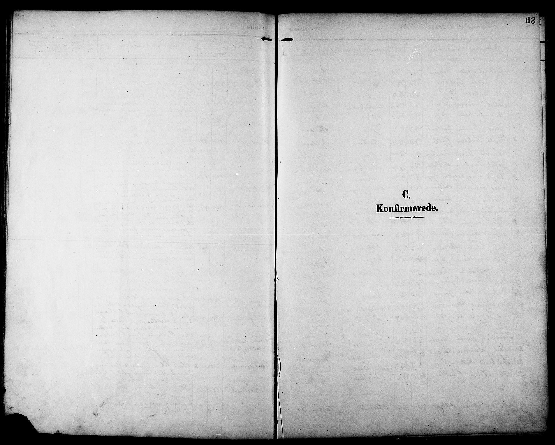 SAT, Ministerialprotokoller, klokkerbøker og fødselsregistre - Sør-Trøndelag, 692/L1111: Klokkerbok nr. 692C06, 1890-1904, s. 63