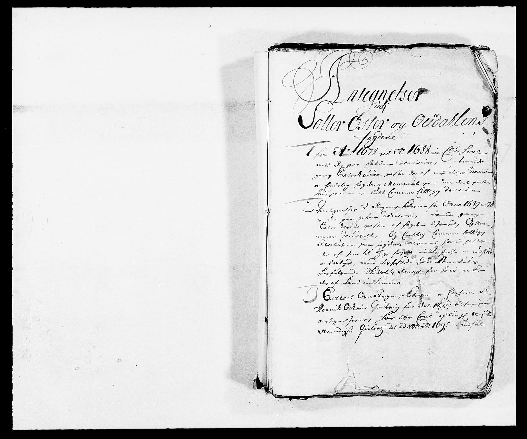 RA, Rentekammeret inntil 1814, Reviderte regnskaper, Fogderegnskap, R13/L0826: Fogderegnskap Solør, Odal og Østerdal, 1688, s. 156