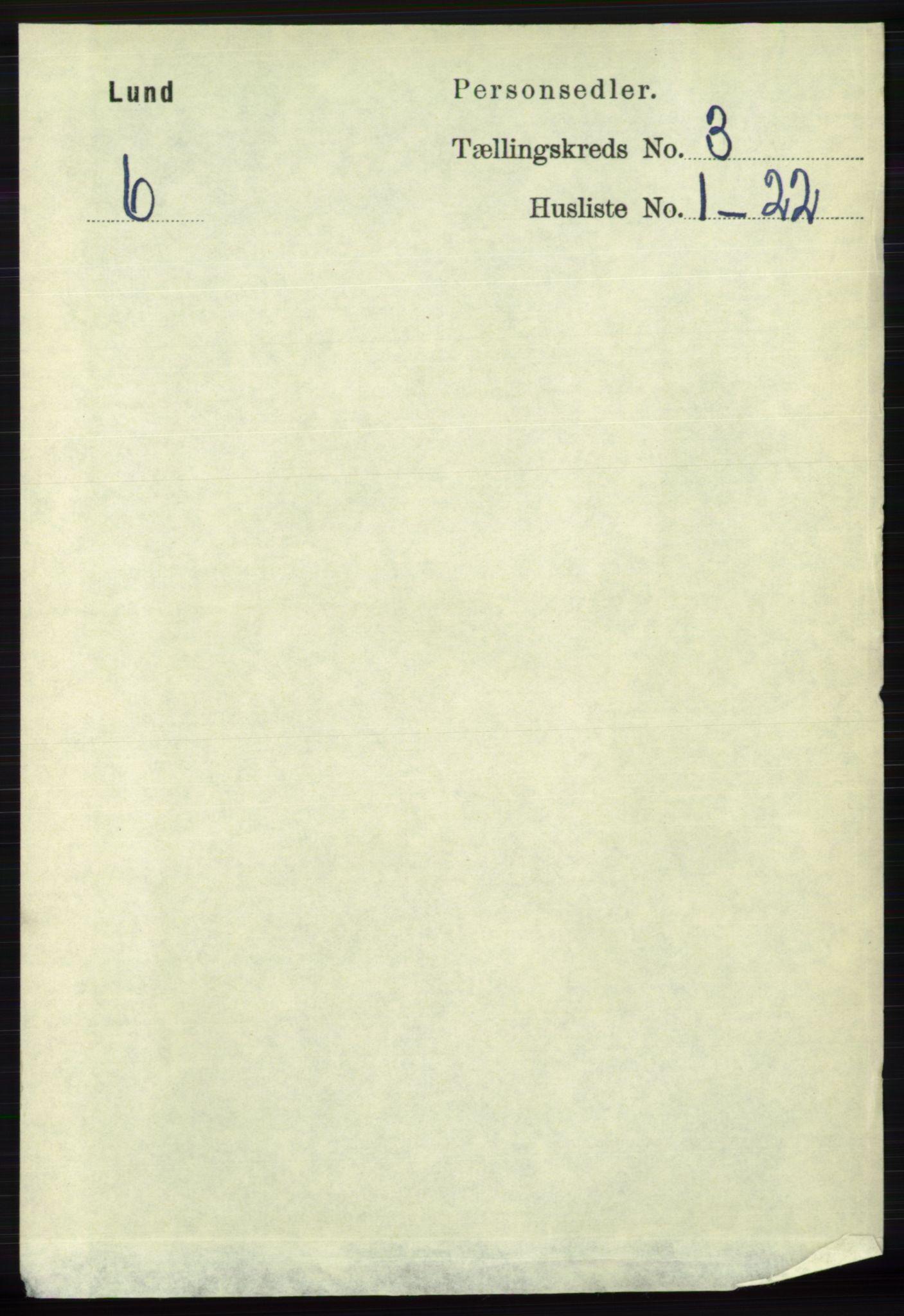 RA, Folketelling 1891 for 1112 Lund herred, 1891, s. 604