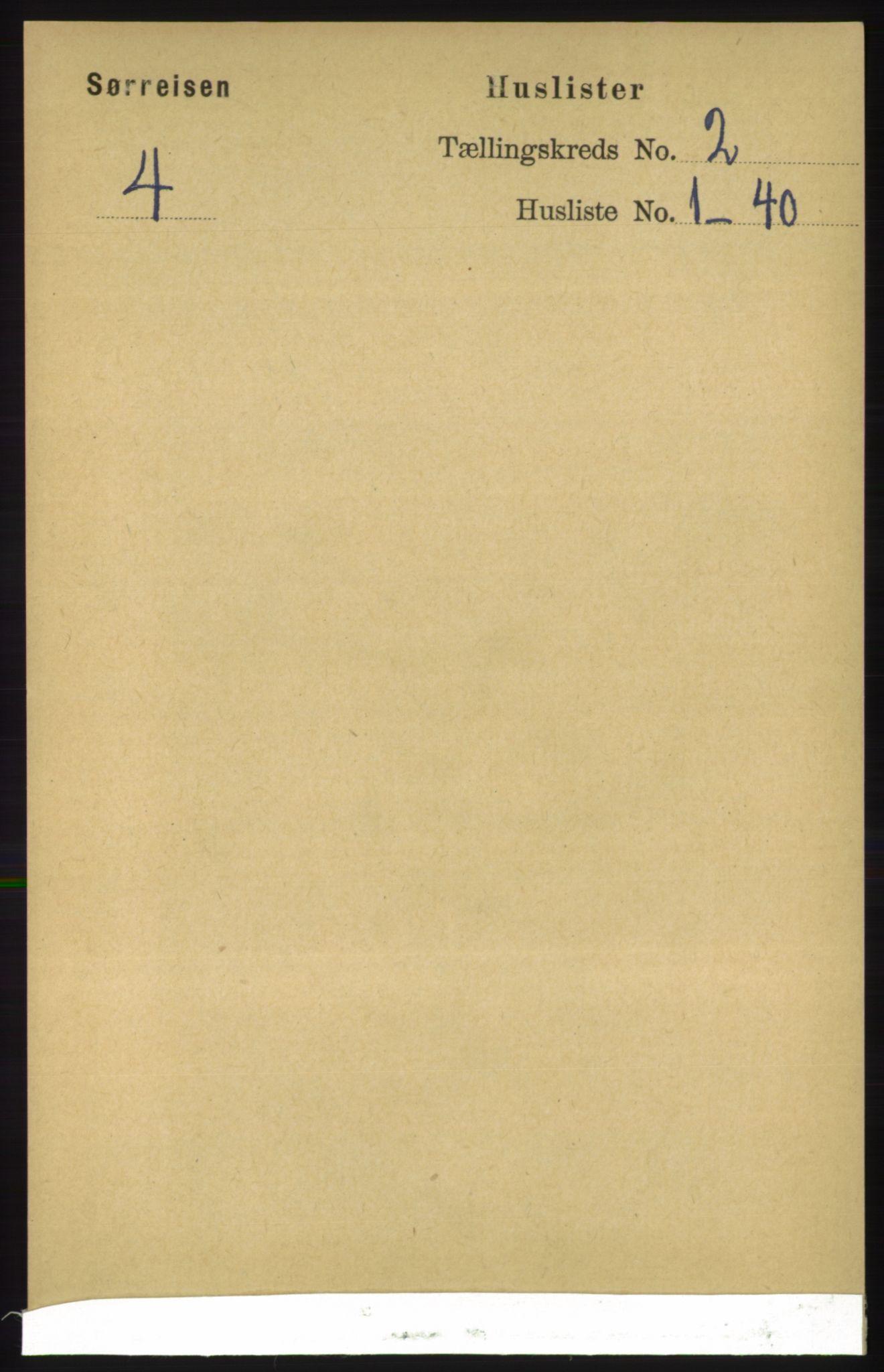 RA, Folketelling 1891 for 1925 Sørreisa herred, 1891, s. 338