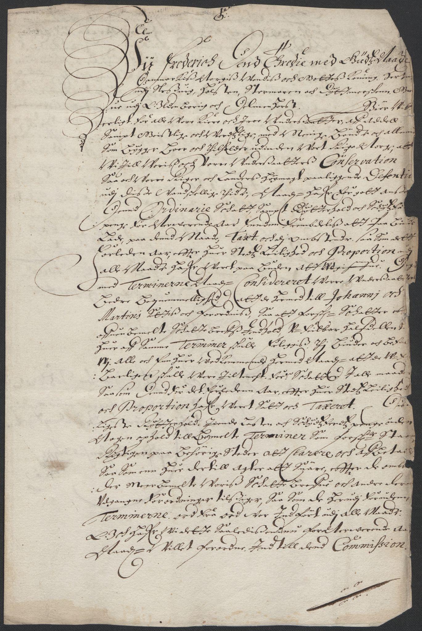 RA, Rentekammeret inntil 1814, Reviderte regnskaper, Fogderegnskap, R35/L2056: Fogderegnskap Øvre og Nedre Telemark, 1665, s. 6