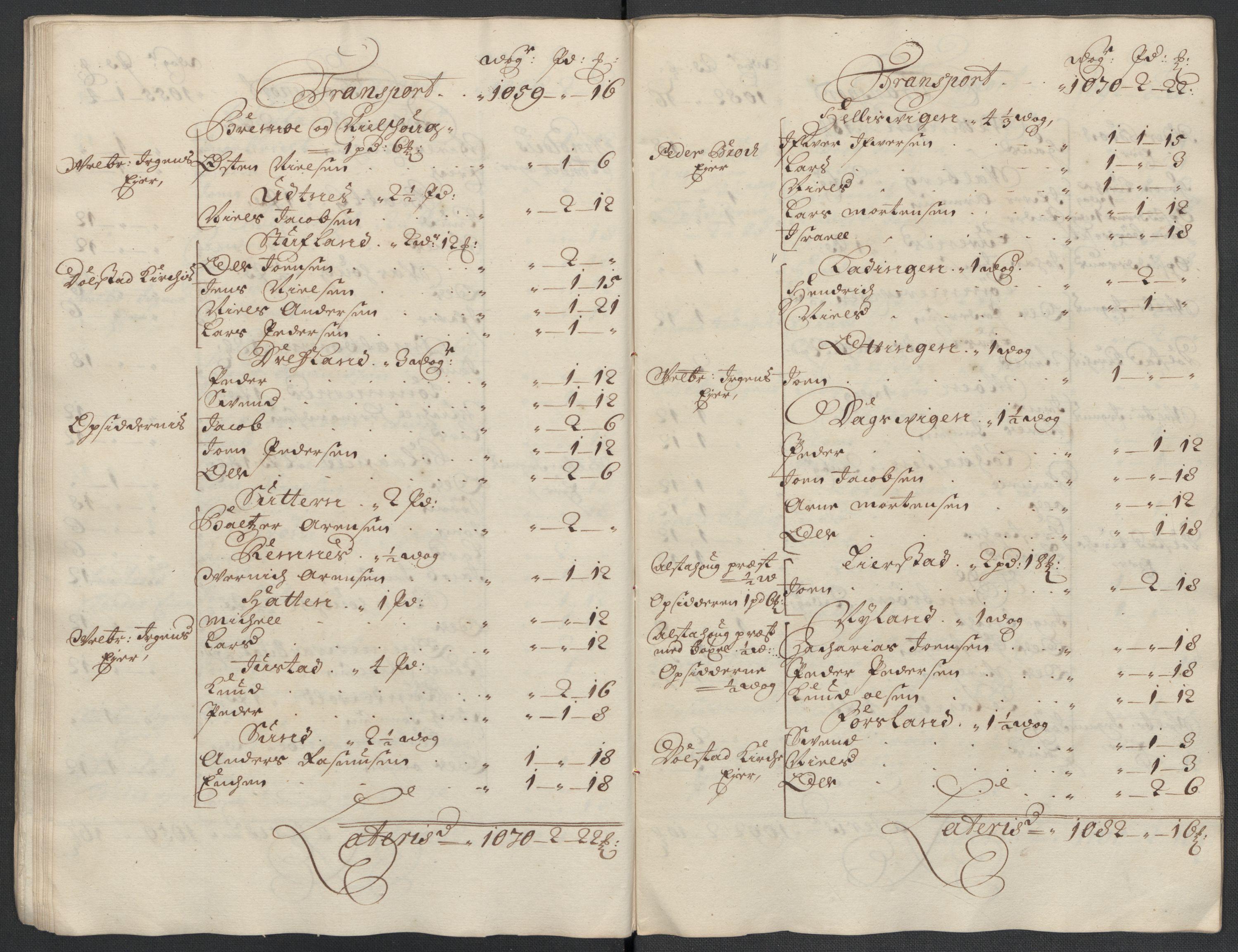 RA, Rentekammeret inntil 1814, Reviderte regnskaper, Fogderegnskap, R65/L4509: Fogderegnskap Helgeland, 1706-1707, s. 63