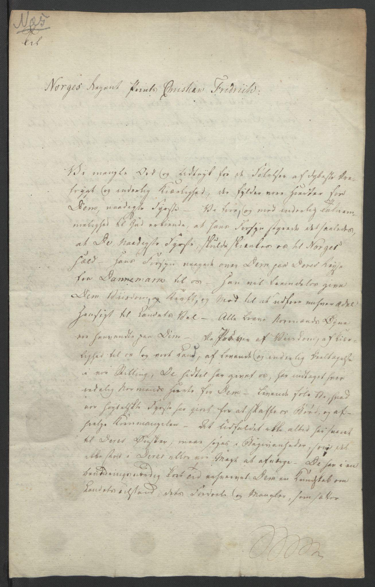 RA, Statsrådssekretariatet, D/Db/L0007: Fullmakter for Eidsvollsrepresentantene i 1814. , 1814, s. 196