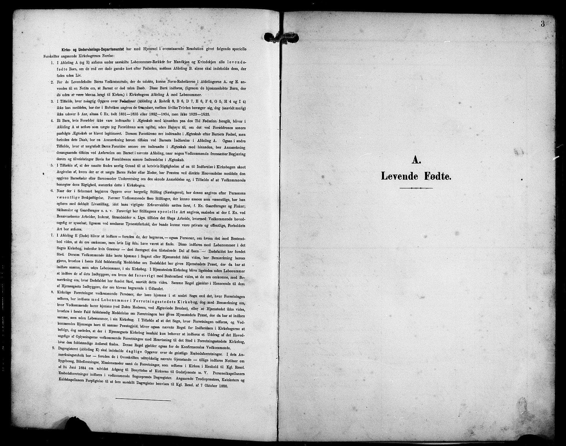 SAB, Laksevåg Sokneprestembete, H/Ha/Hab/Haba/L0004: Klokkerbok nr. A 4, 1899-1909, s. 3